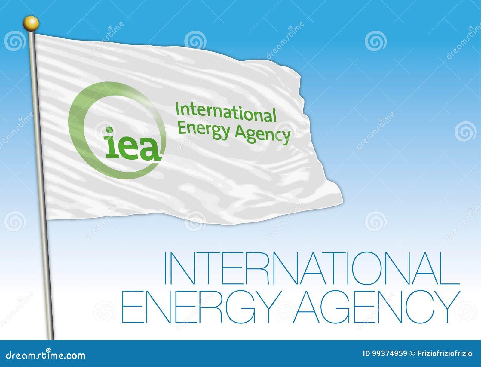 Organismo Internacional de Energía, bandera de la organización del IEA