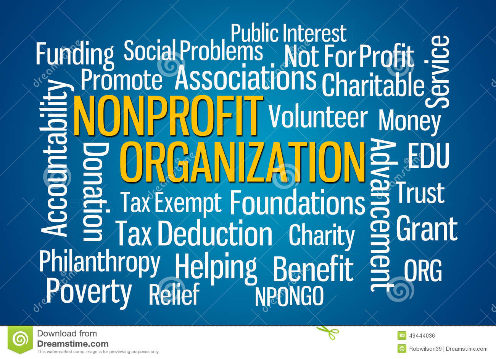 Organización sin ánimo de lucro