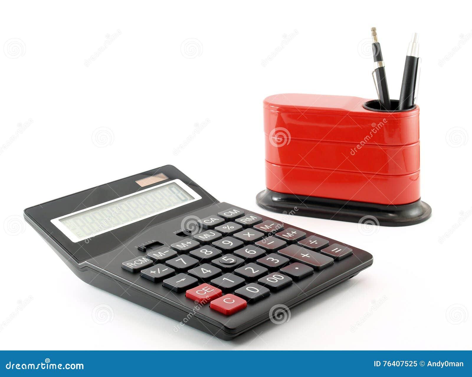 Organizador da calculadora e da mesa