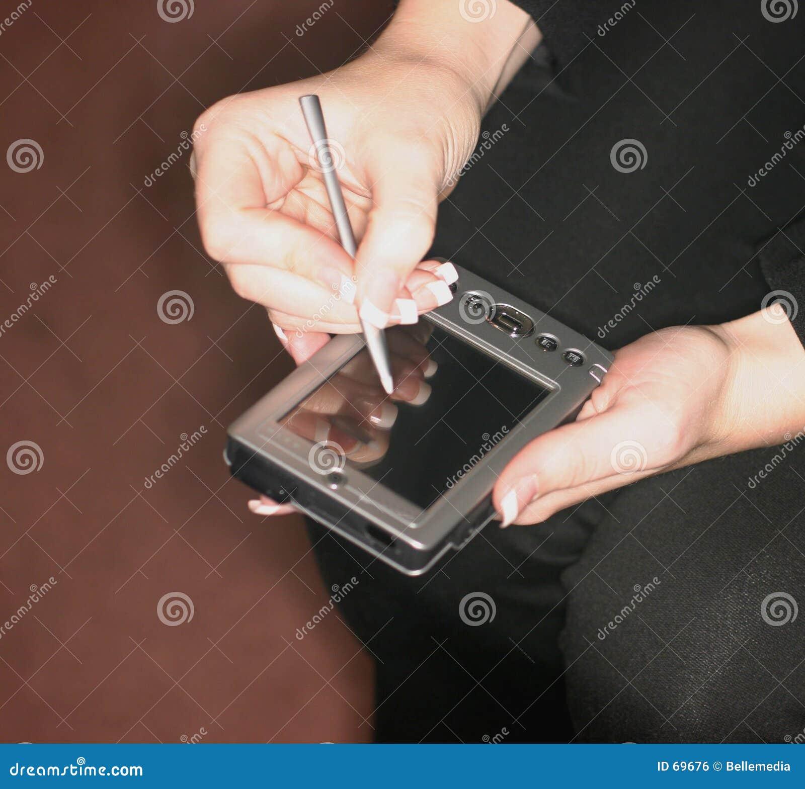 Organizador de PDA