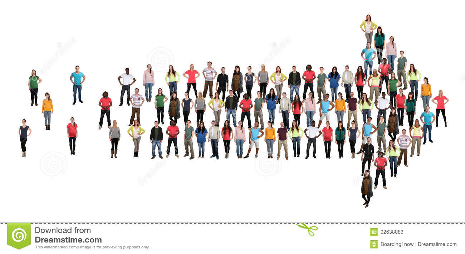 Organizati ομαδικής εργασίας ομάδων επιτυχίας βελών κατεύθυνσης ομάδας ανθρώπων
