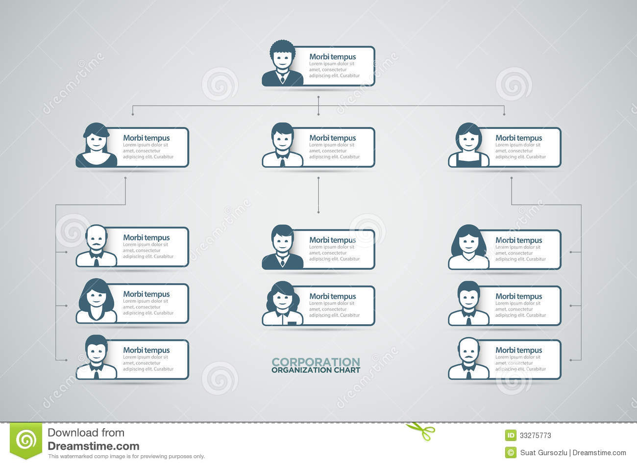 Easy organization chart template militaryalicious easy organization chart template accmission
