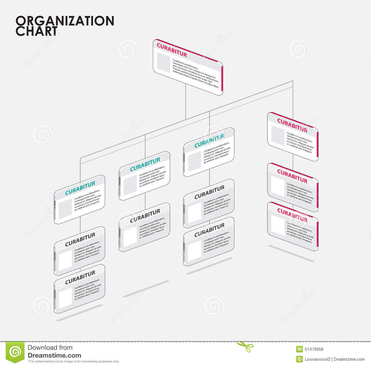 organization chart infographics with tree diagram flow. Black Bedroom Furniture Sets. Home Design Ideas