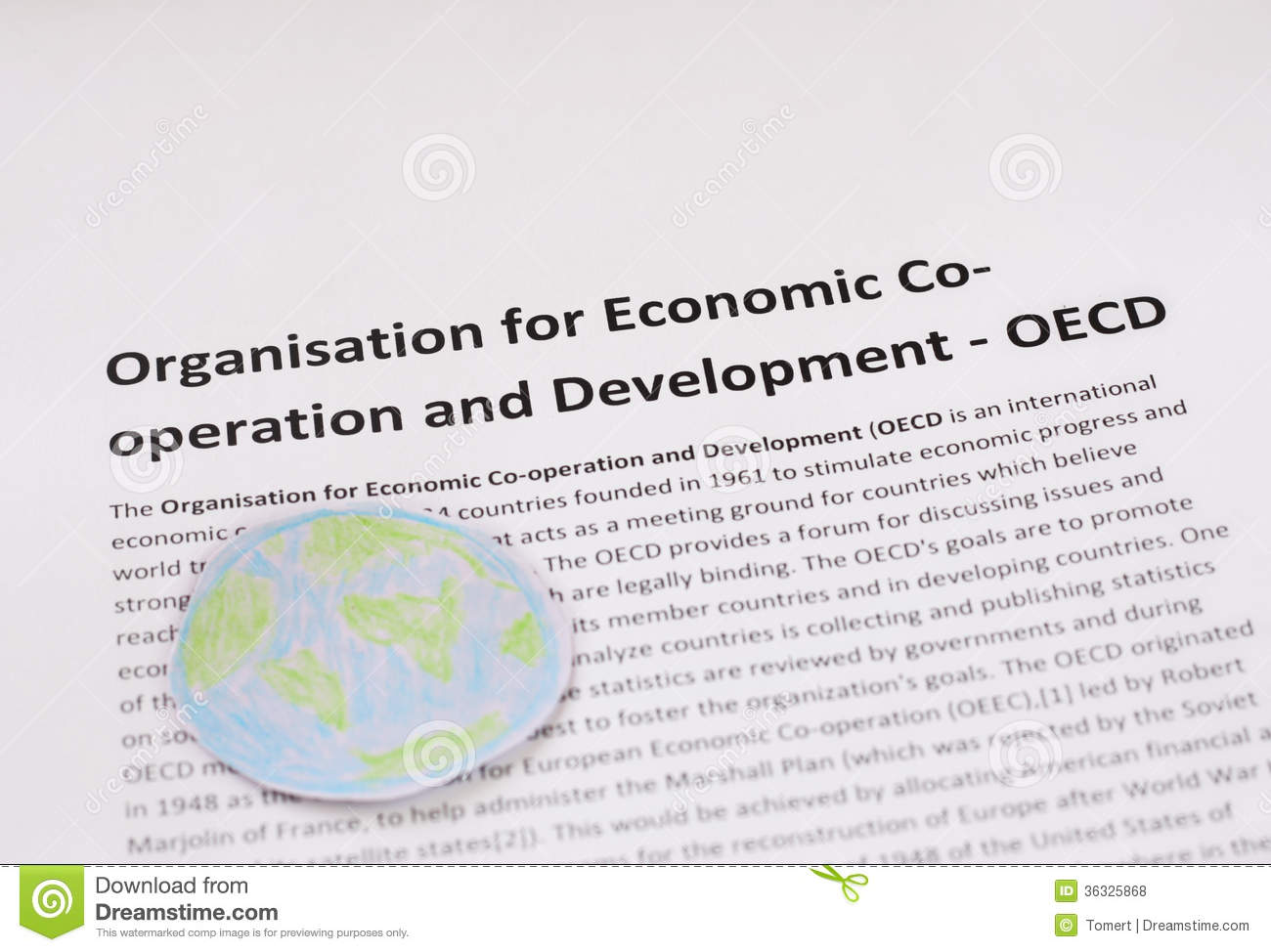 organization for economic co operation and development oecd The mission of the organization for economic co-operation and development (oecd) is to promote policies that will improve the economic and social well-being of people around the world the oecd provides a forum in which governments can work together to share experiences and seek solutions to common problems.