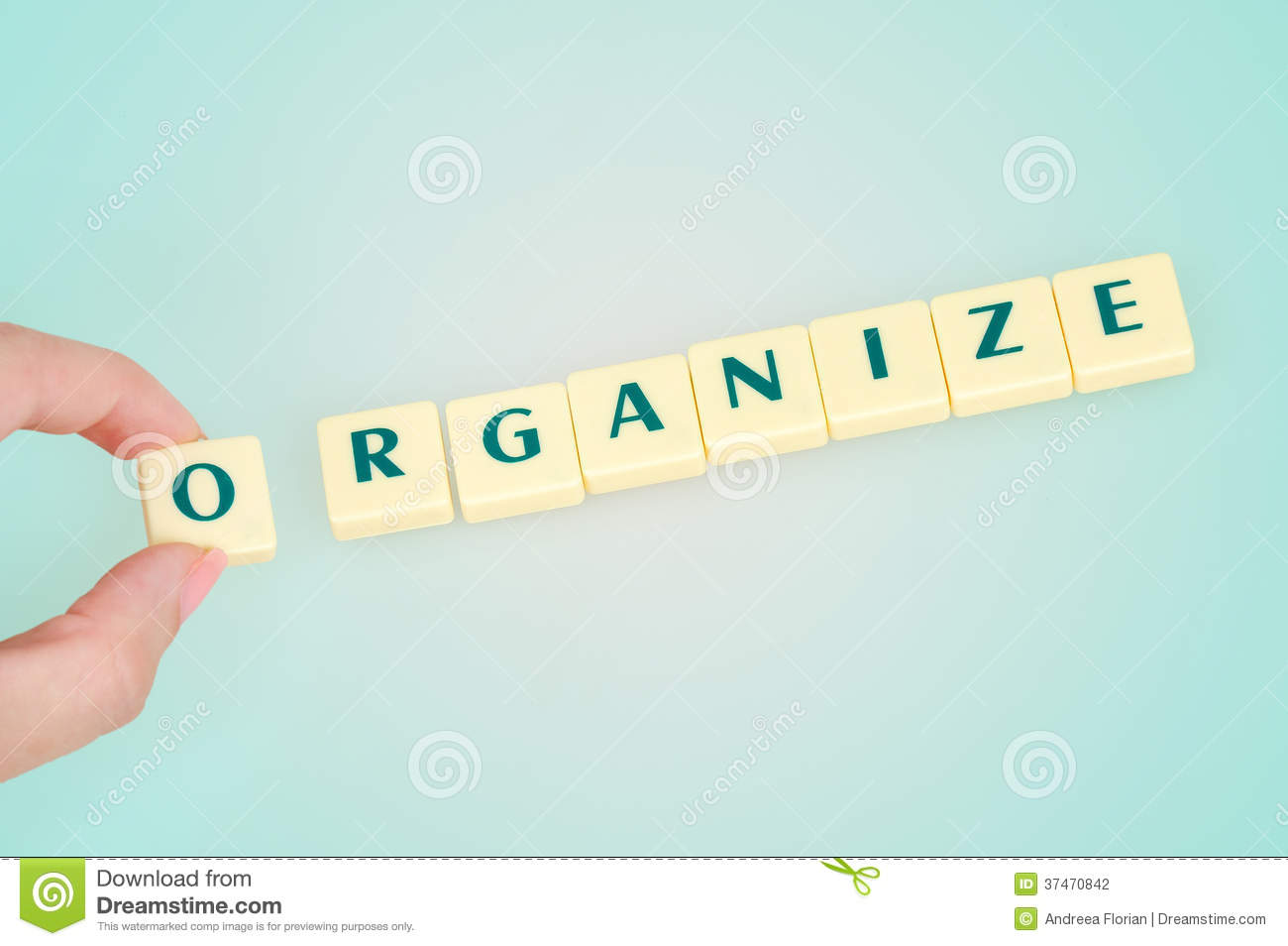 Organize Word Stock Photography - Image: 37470842
