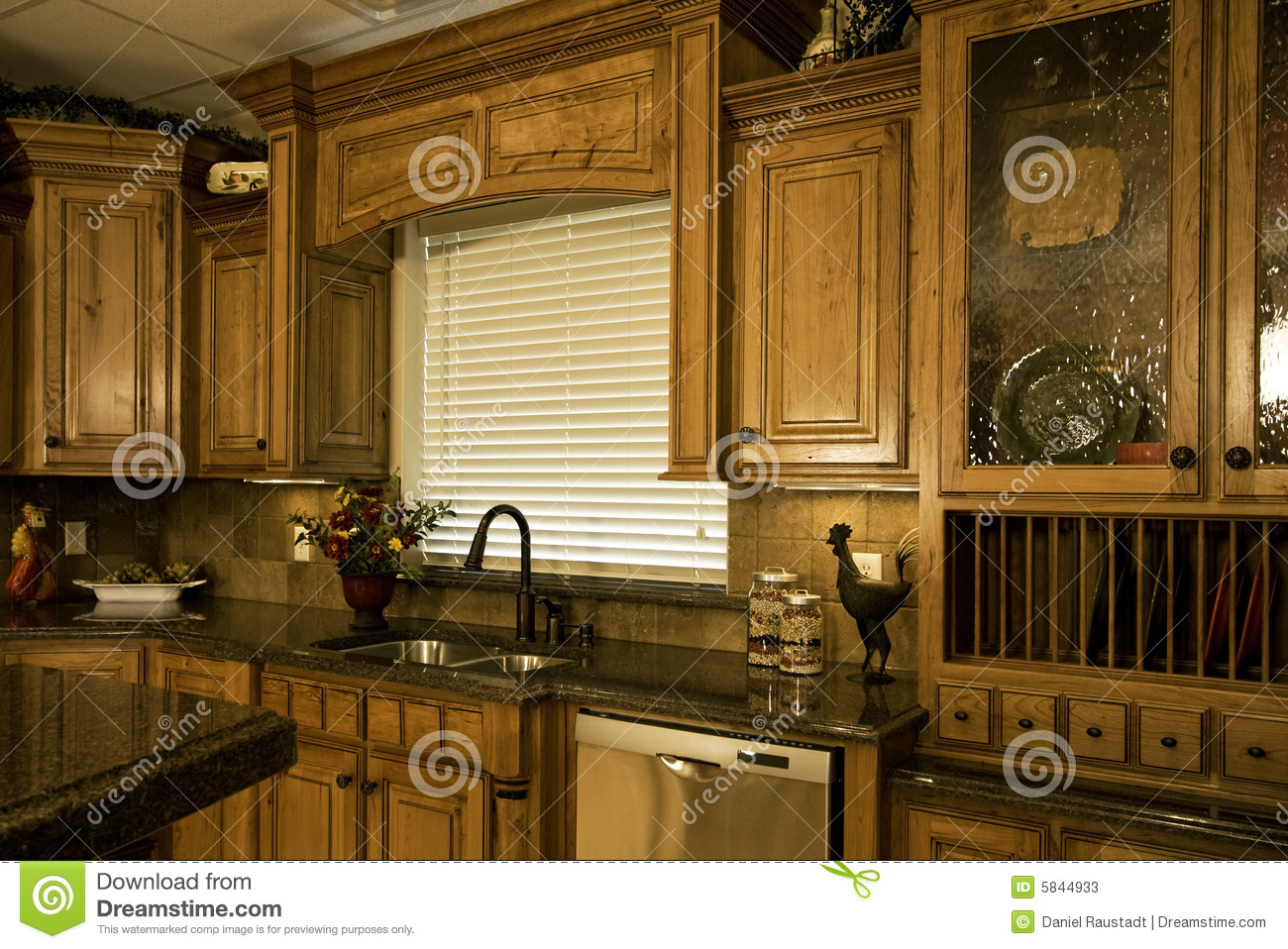 Custom Kitchen Cabinets San Diego Organized Luxury Kitchen Stock Photos Image 5844933