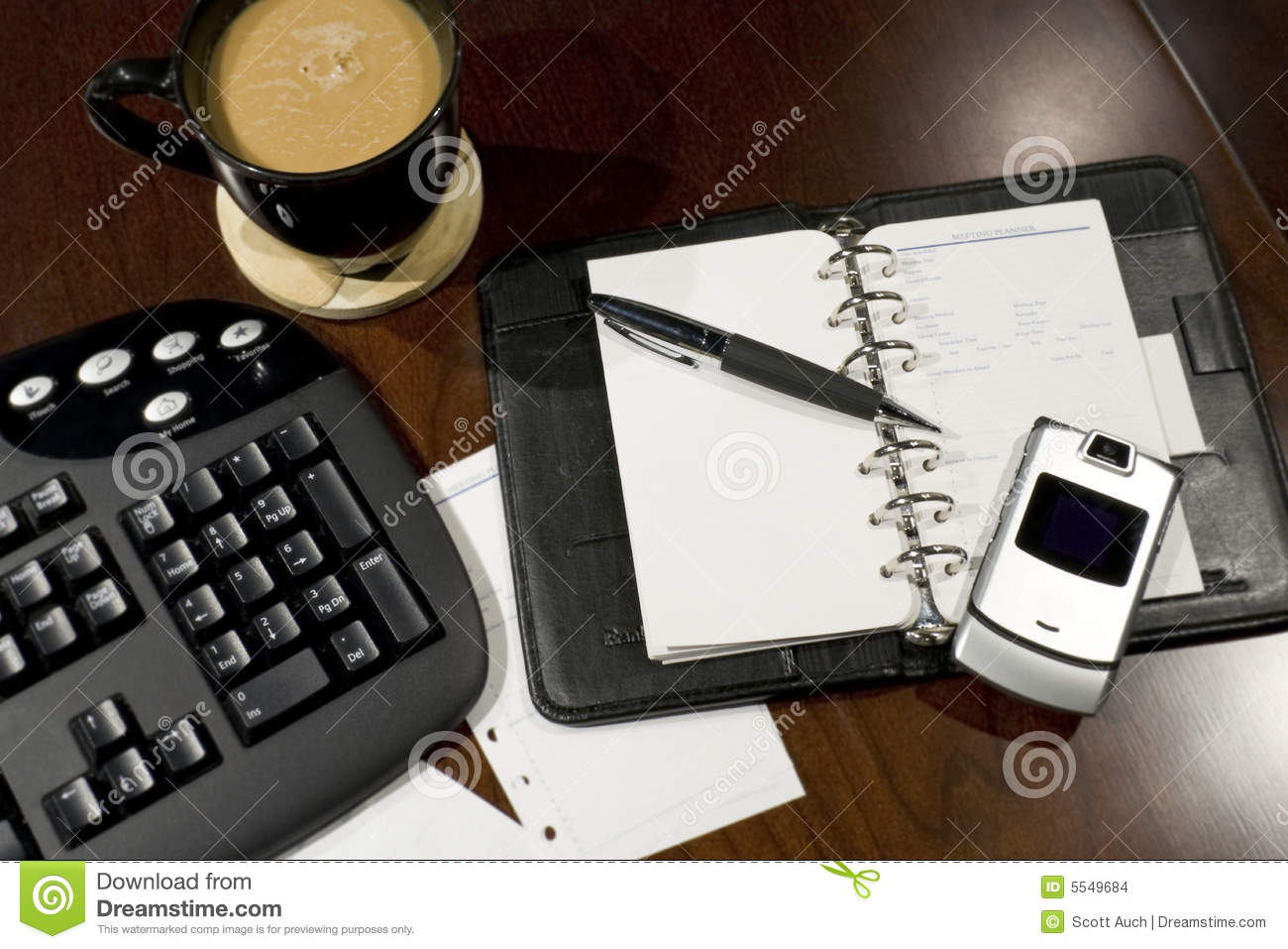 Organized office desk stock images image 5549684 - Organized office desk ...
