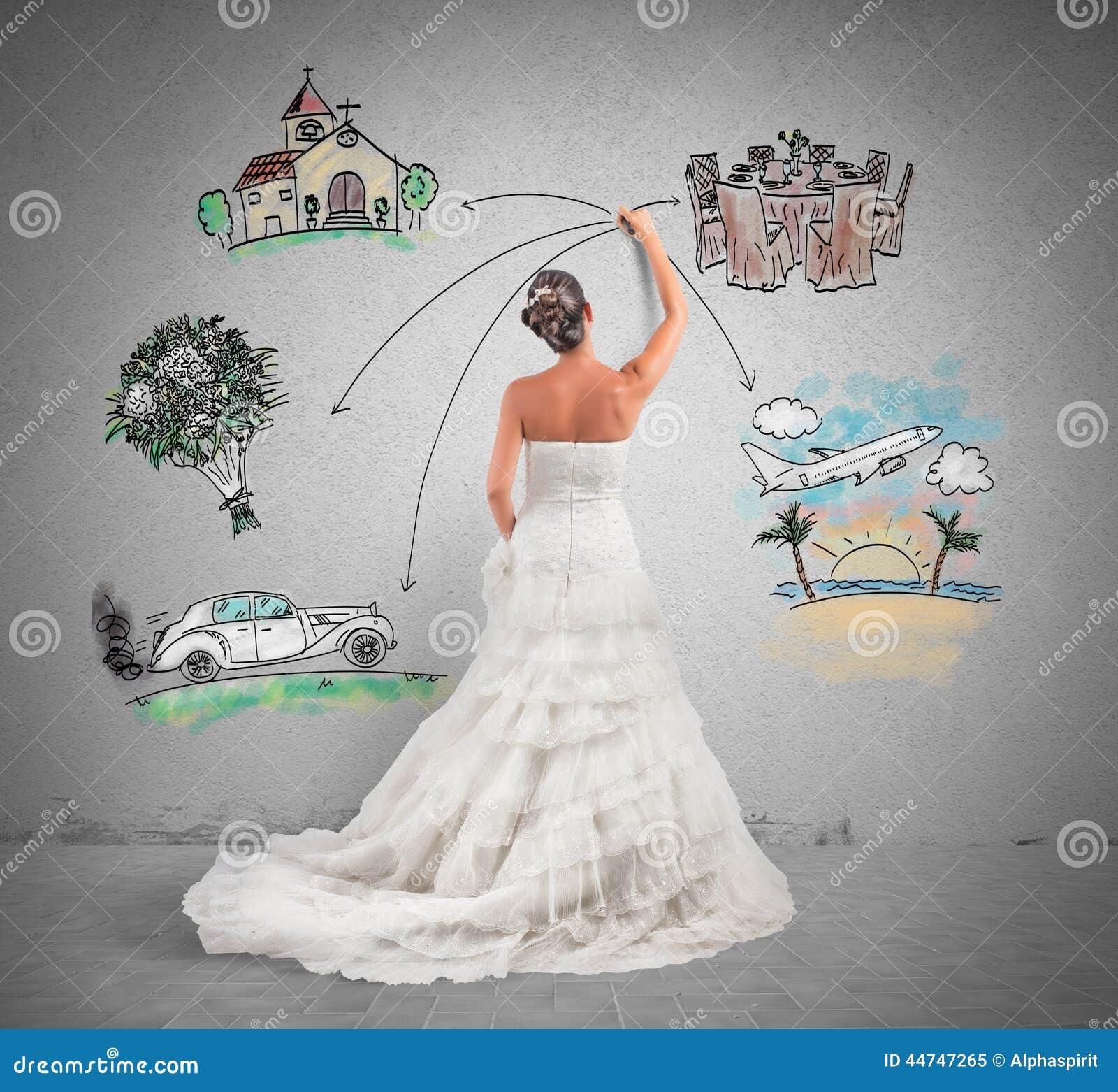Organizing A Wedding Stock Photo
