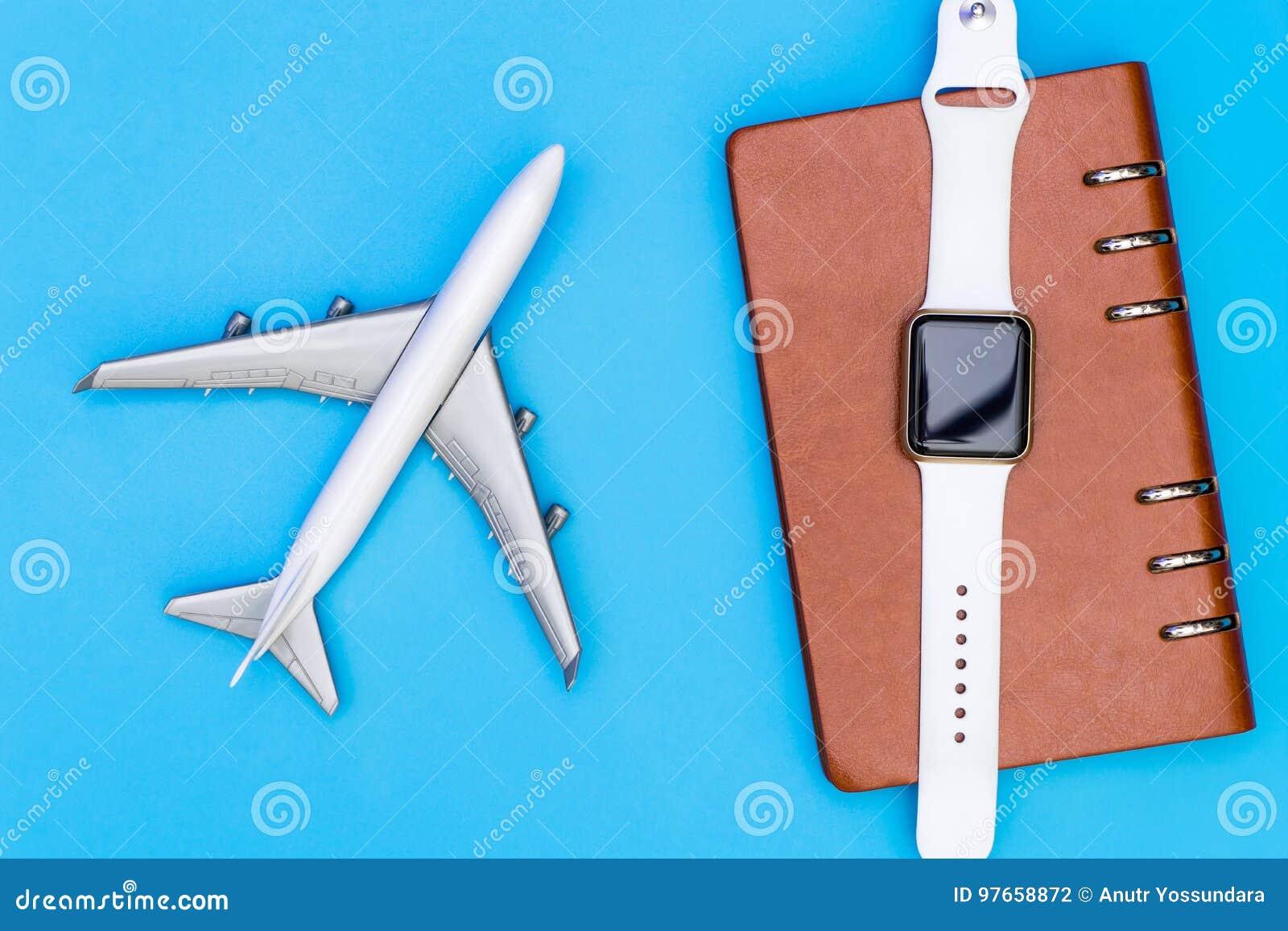 Organizzatore astuto del taccuino e dell orologio per il viaggio d affari