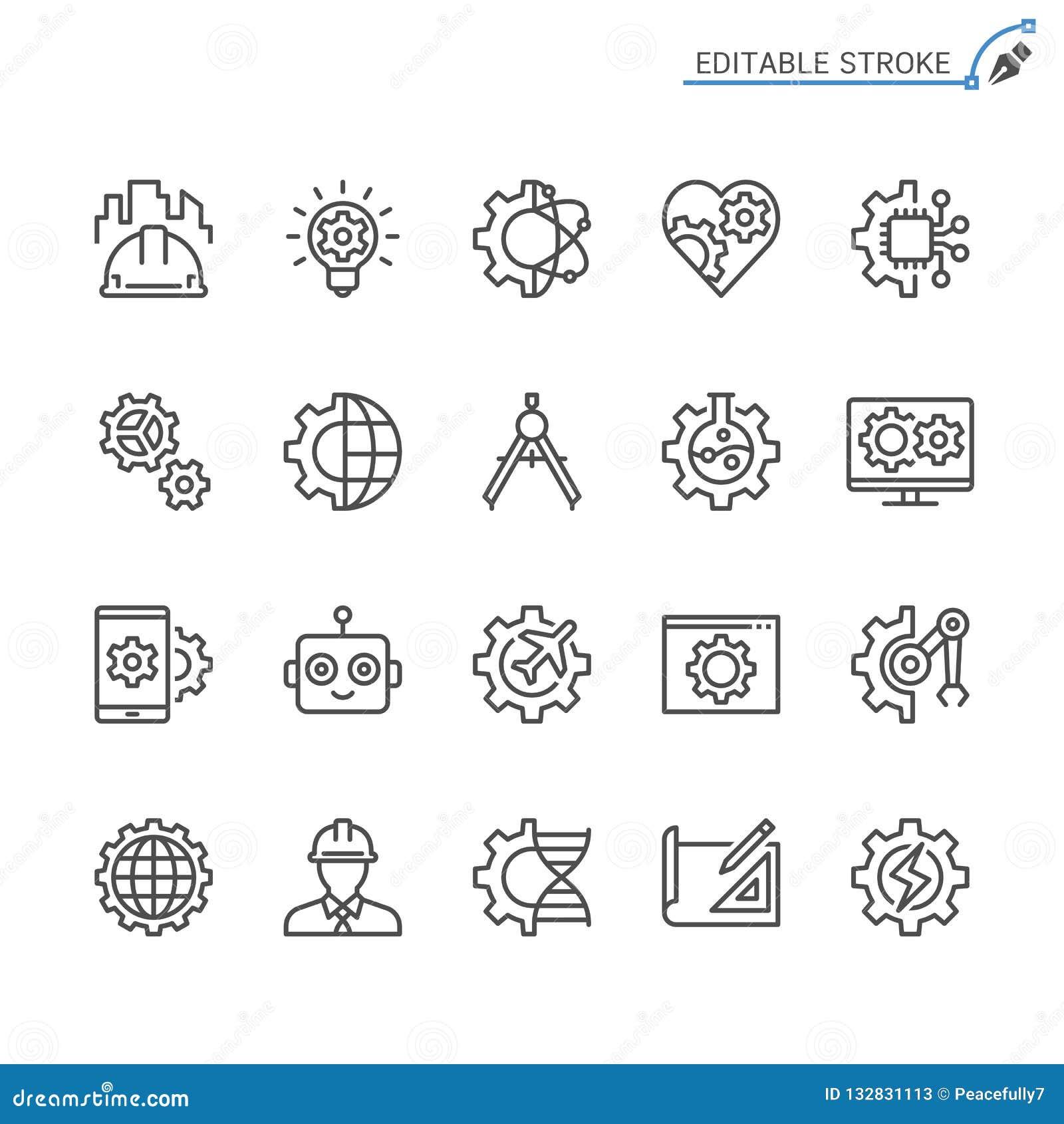 Organizzazione dell insieme dell icona del profilo