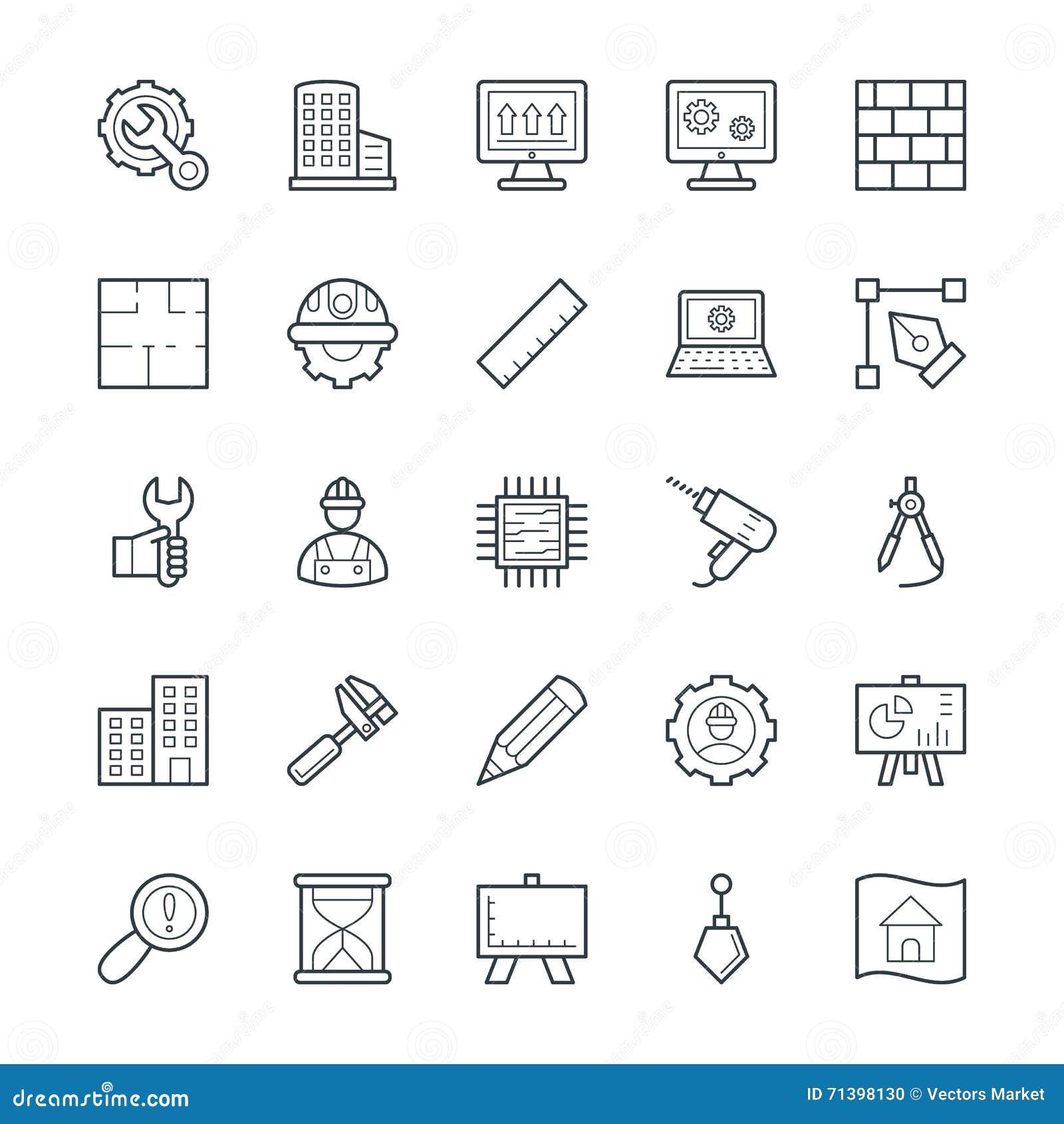 Organizzazione delle icone fresche 1 di vettore