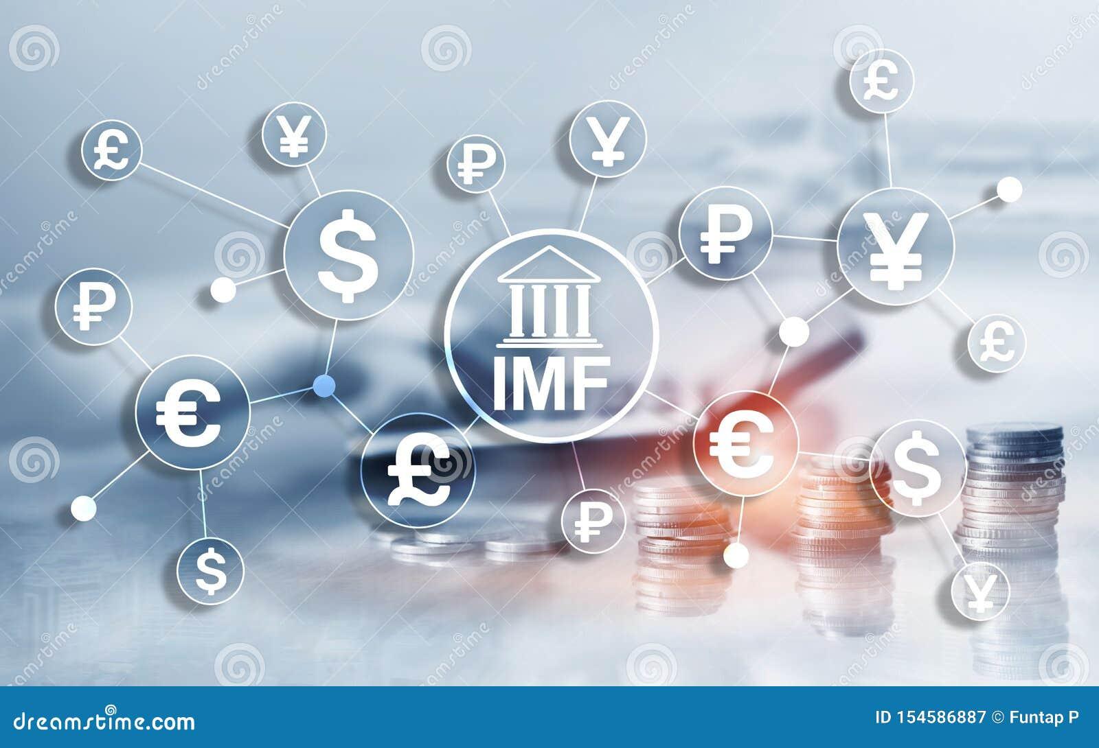 Organizzazione globale della banca del Fondo monetario internazionale di FMI (fondo monetario internazionale) Concetto di affari