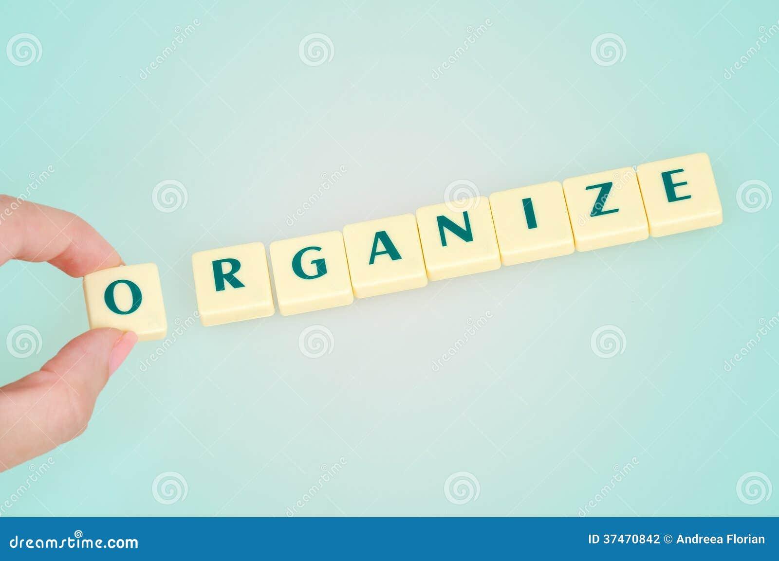 Organizzi la parola