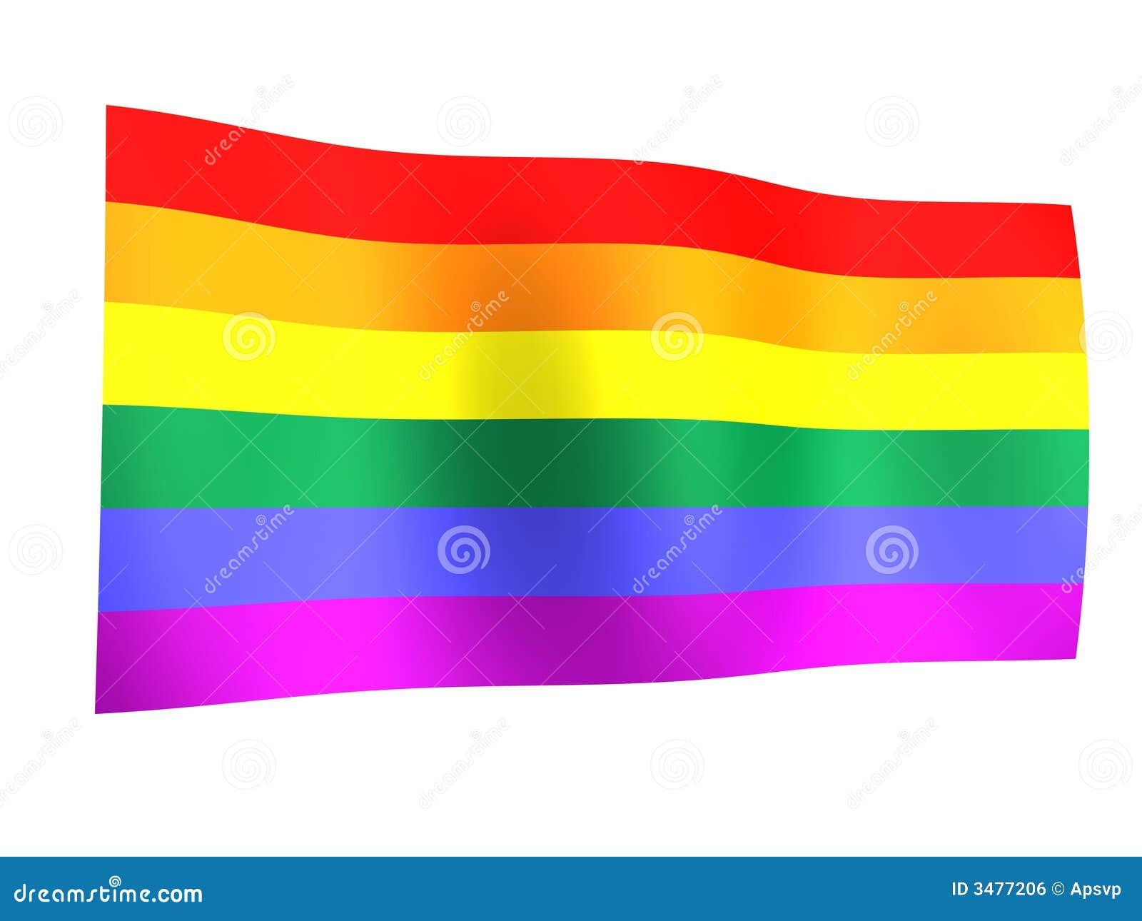 Orgullo del indicador del arco iris
