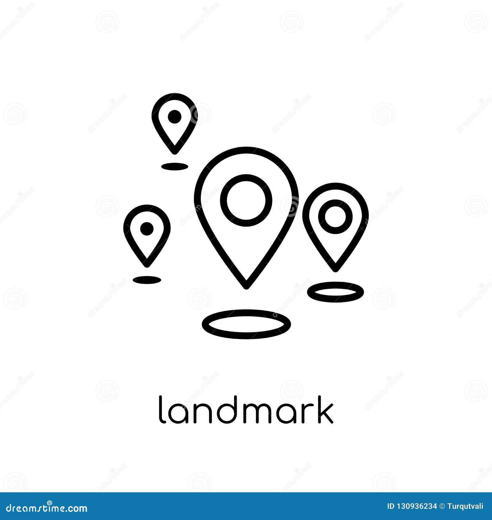 Oriëntatiepuntpictogram