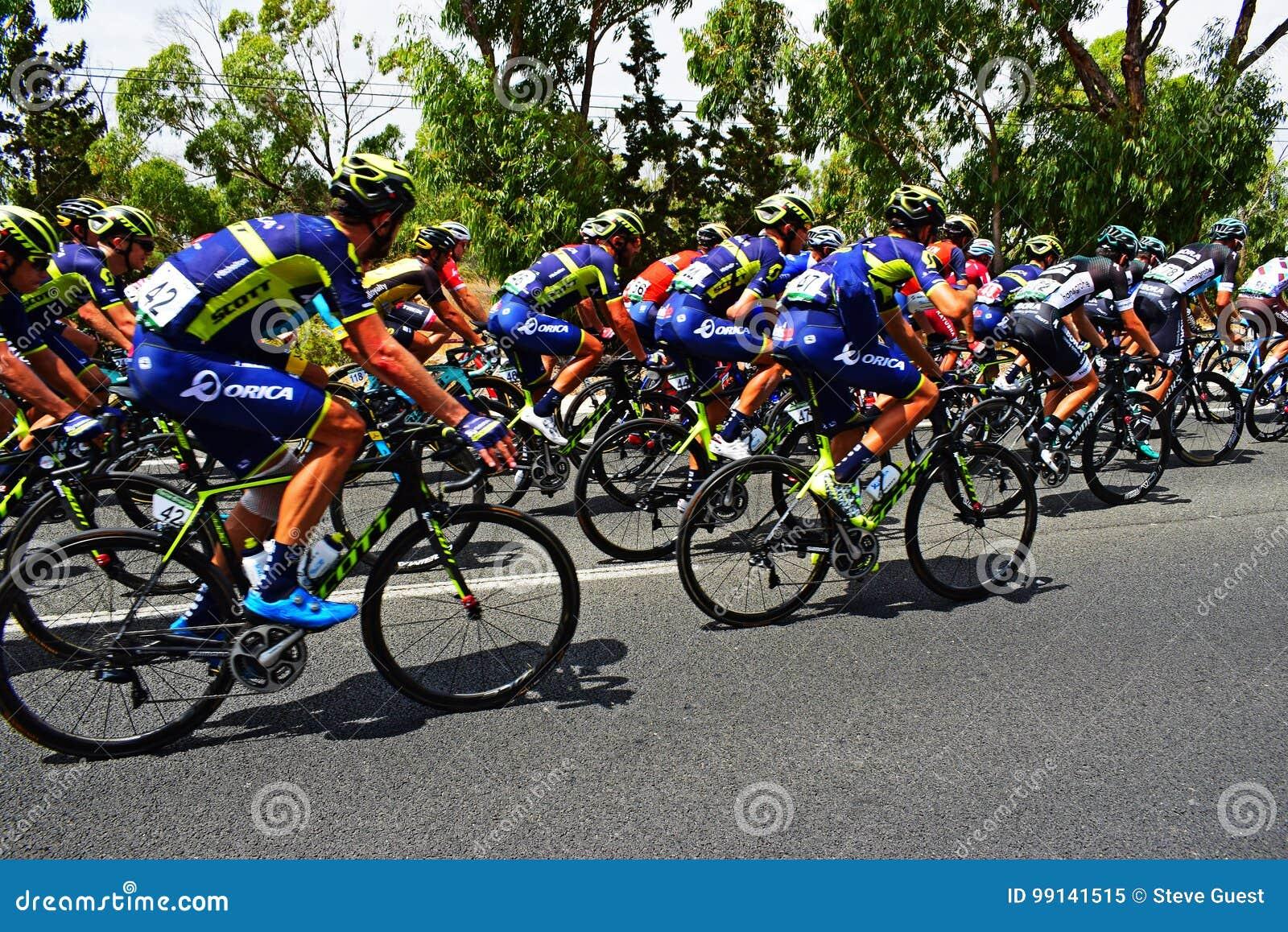 Orica Scott In The Peleton La Vuelta España