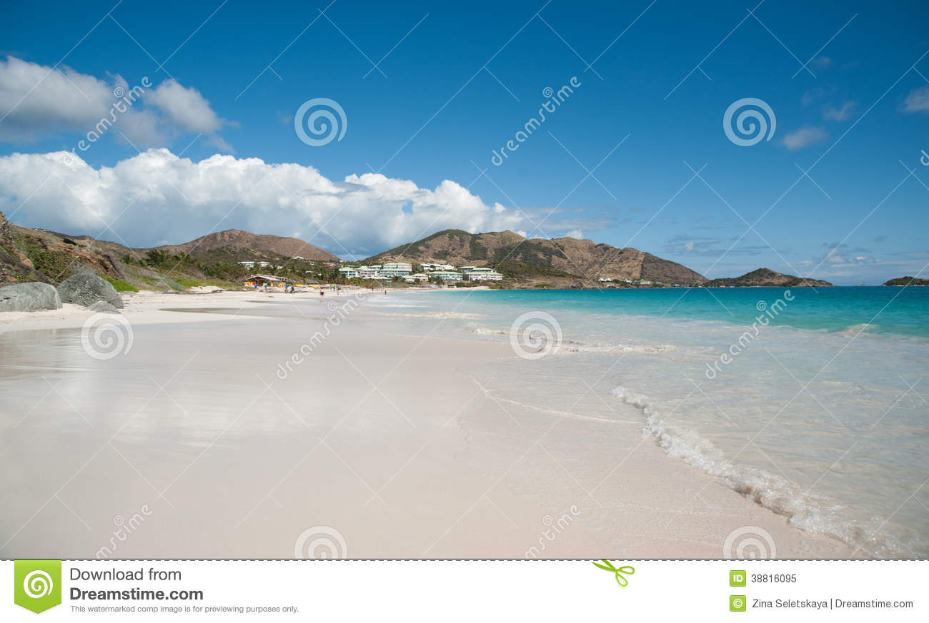 Orient Beach on Saint Martin