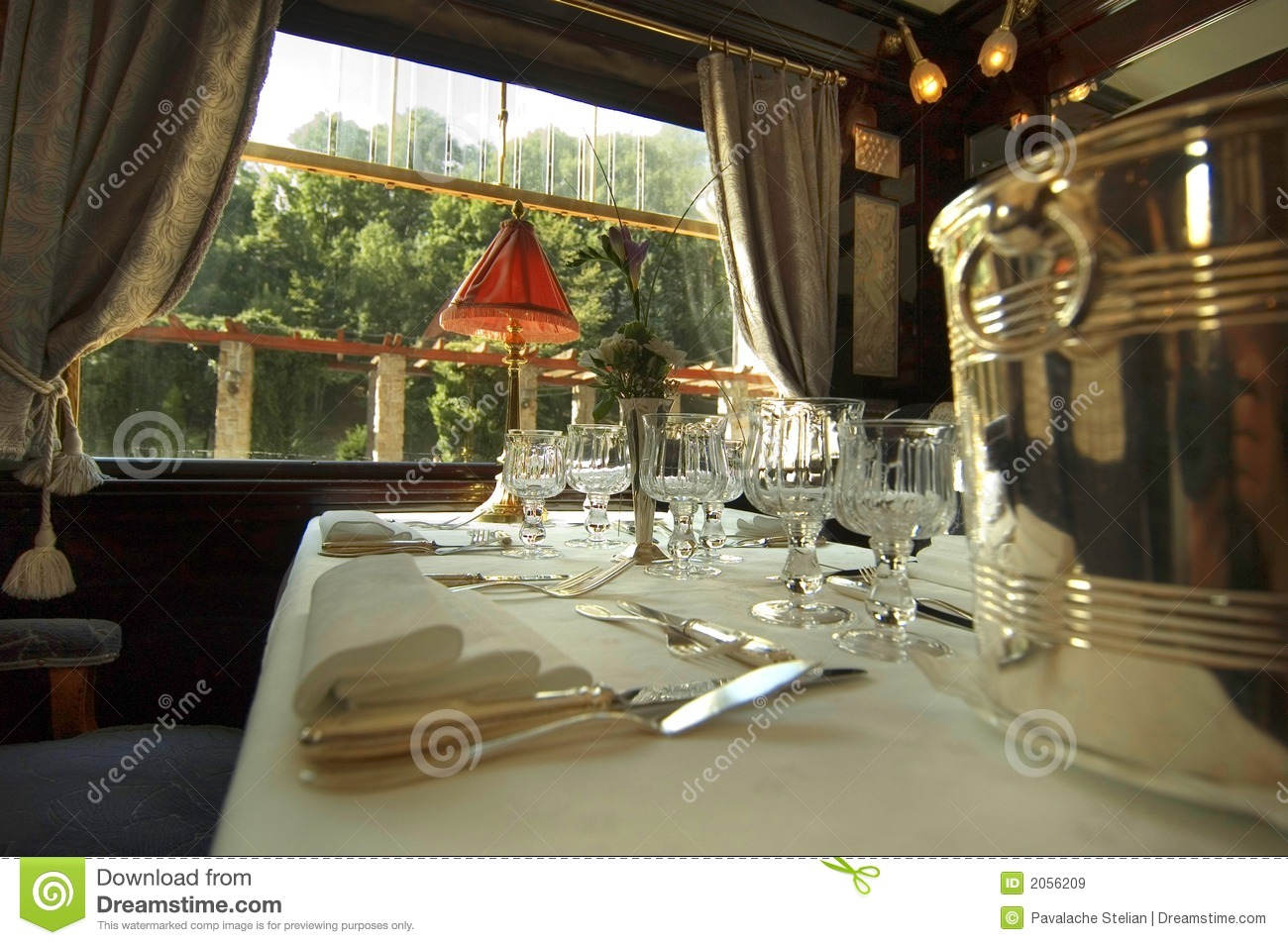 orient express interior royalty free stock images image