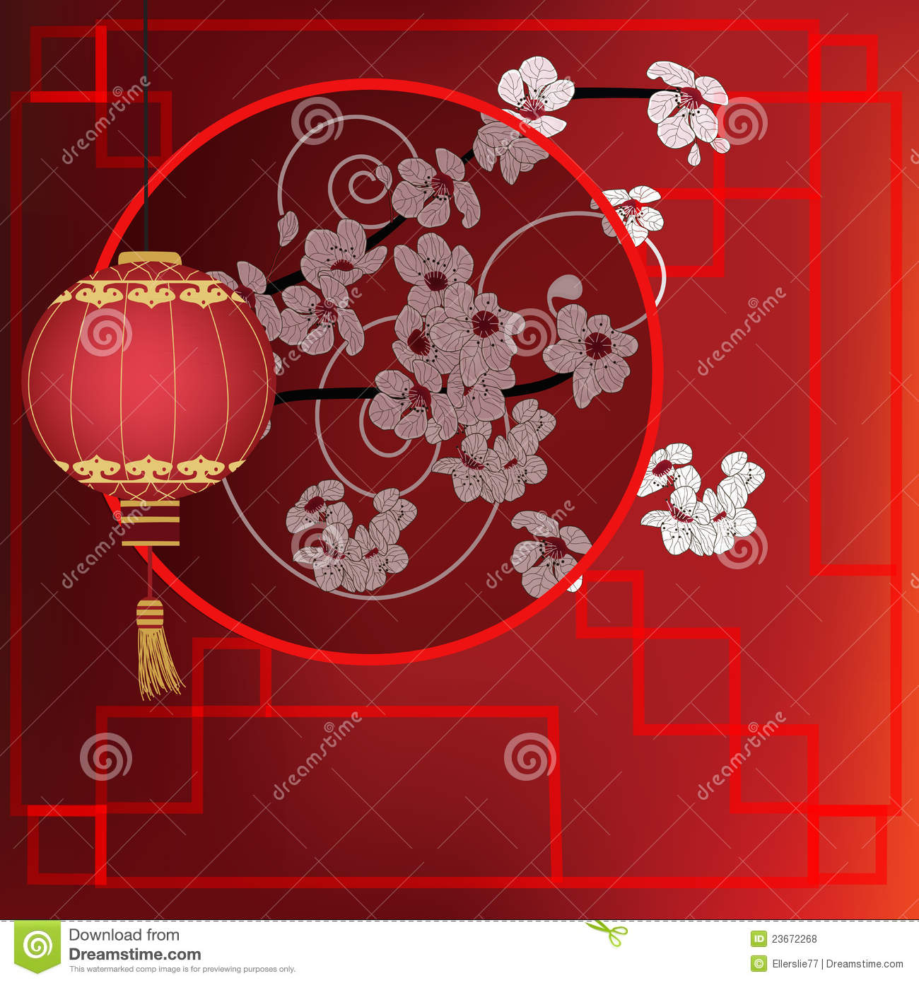 Oriental Background Royalty Free Stock Photos Image