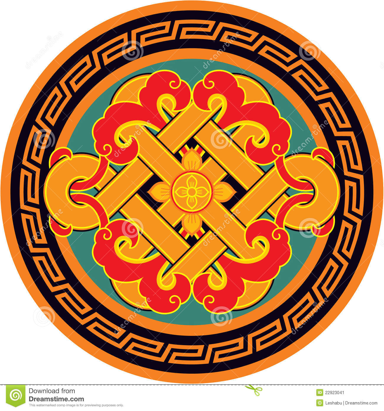 Oriental Chinese Design Element Stock Image Image 22923041
