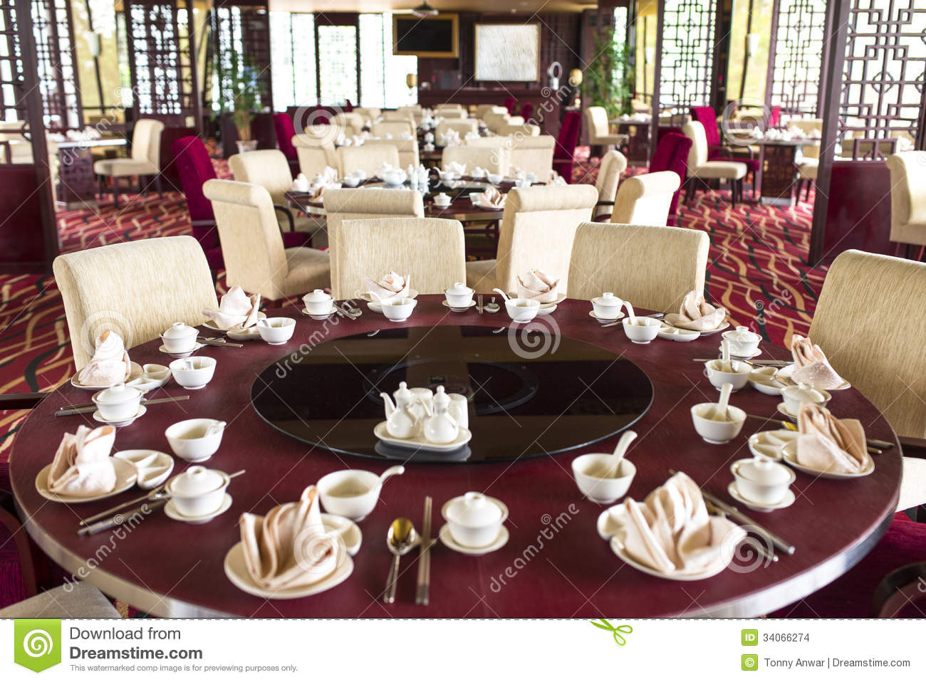 Oriental chinese restaurant stock images image