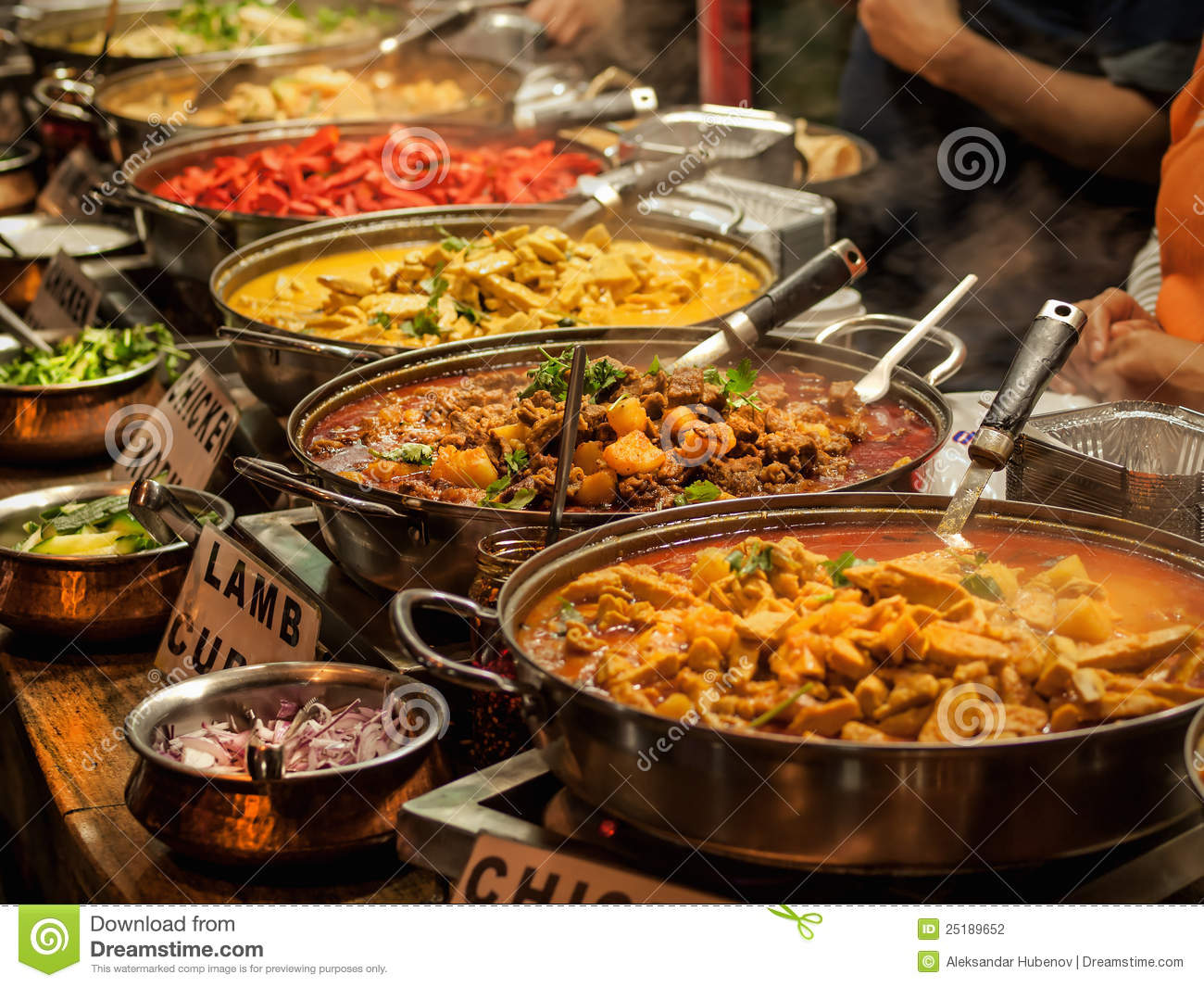 Oriental food stock photography image 25189652 for Cuisine orientale