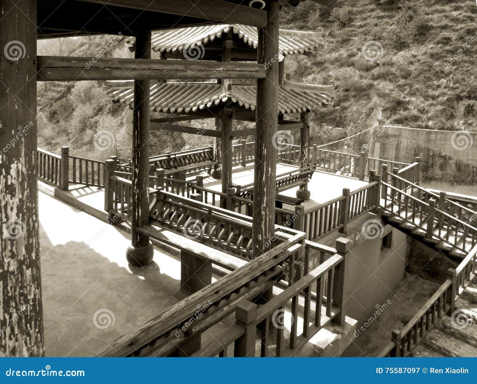 oriental garden stock image. image of architecture, oriental