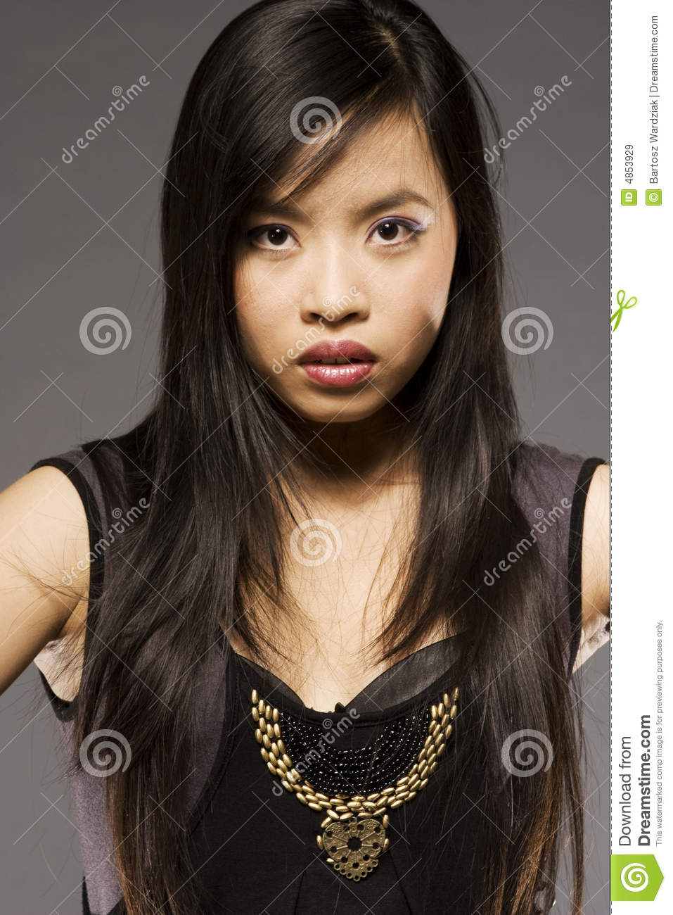 Oriental model royalty free stock images image 4853929 for Orient mobel