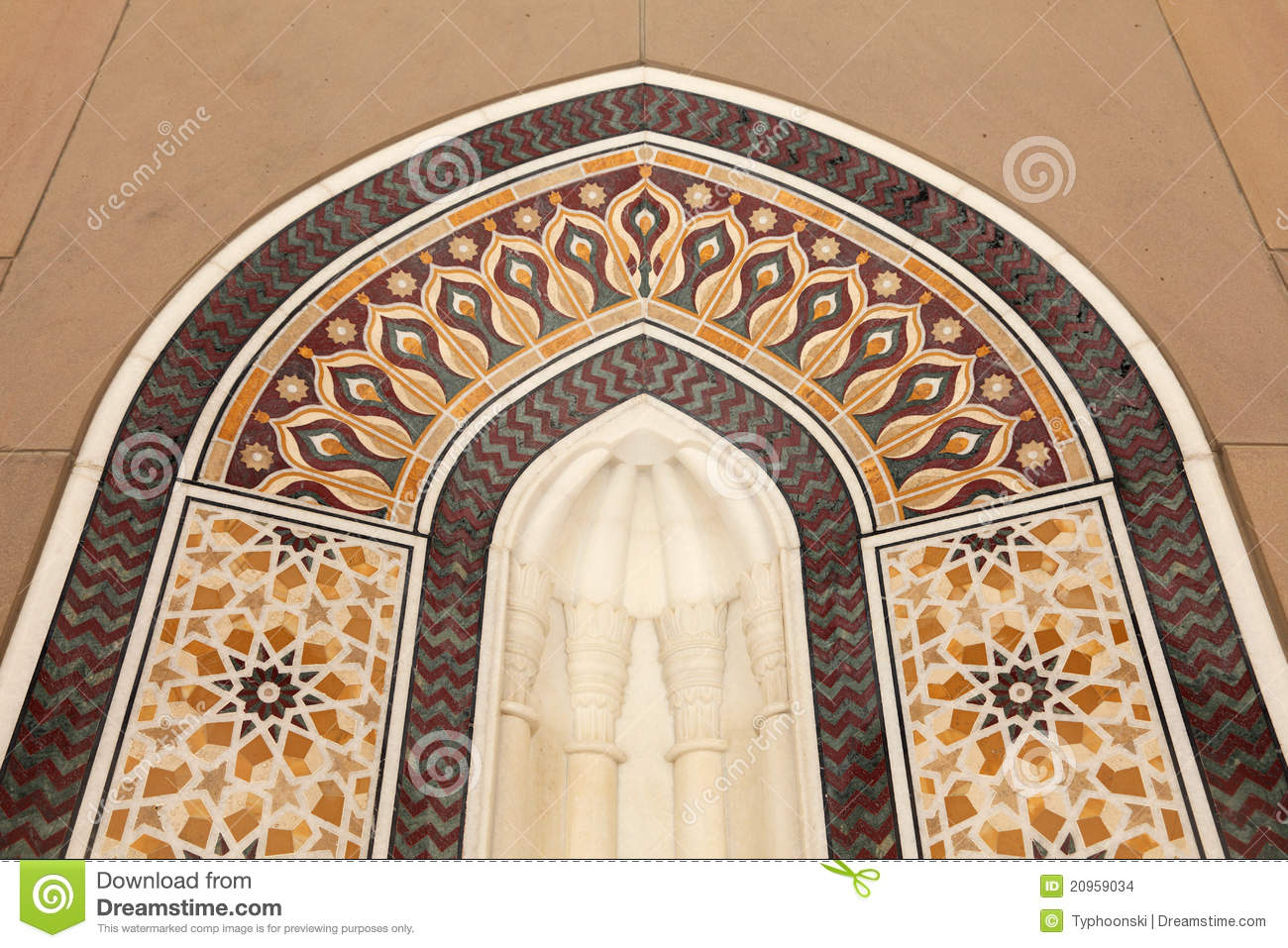 Oriental mosaic decoration stock images image 20959034 for Decoration orientale