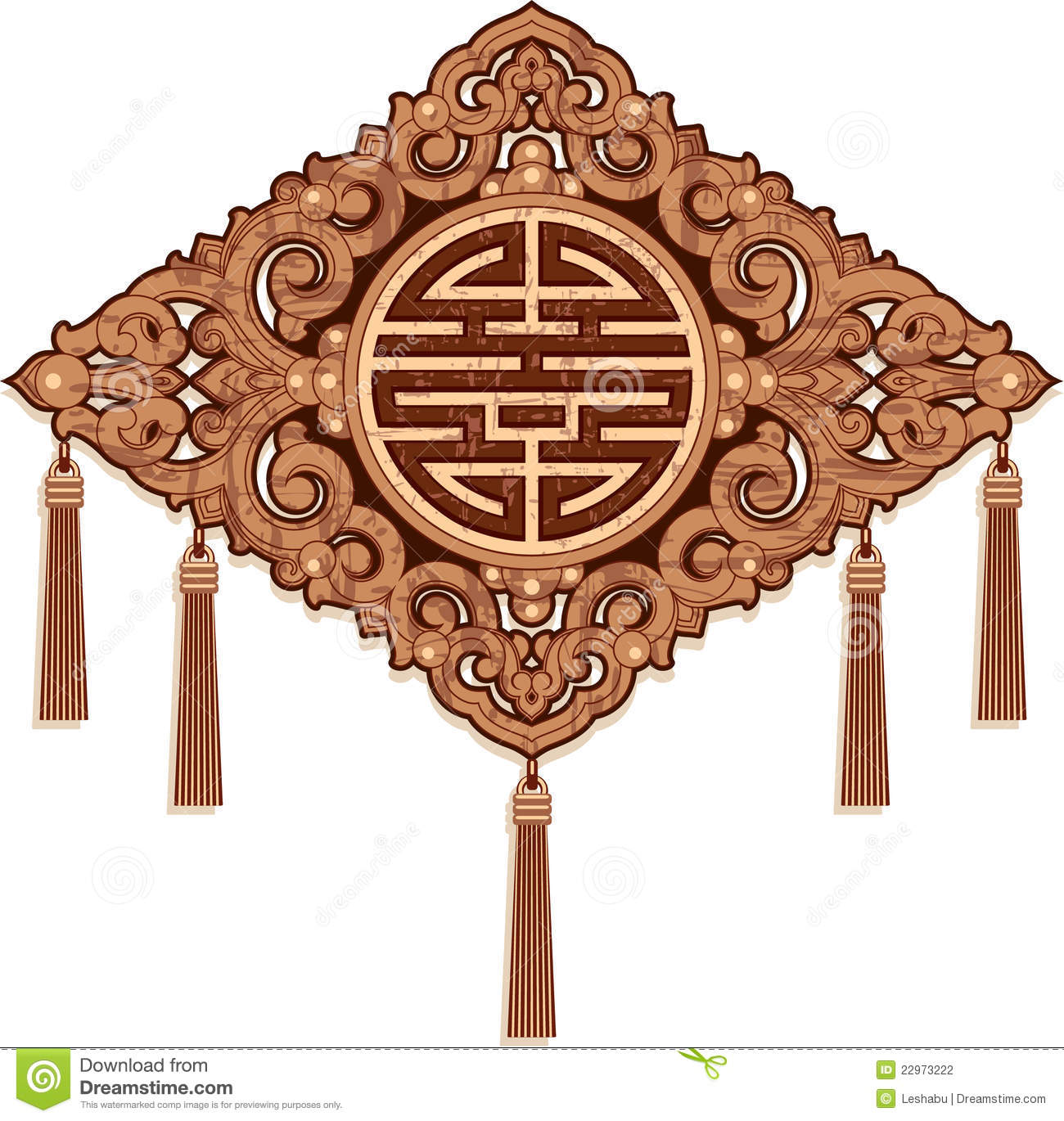 Oriental ornament pattern decoration stock photography for Decoration orientale