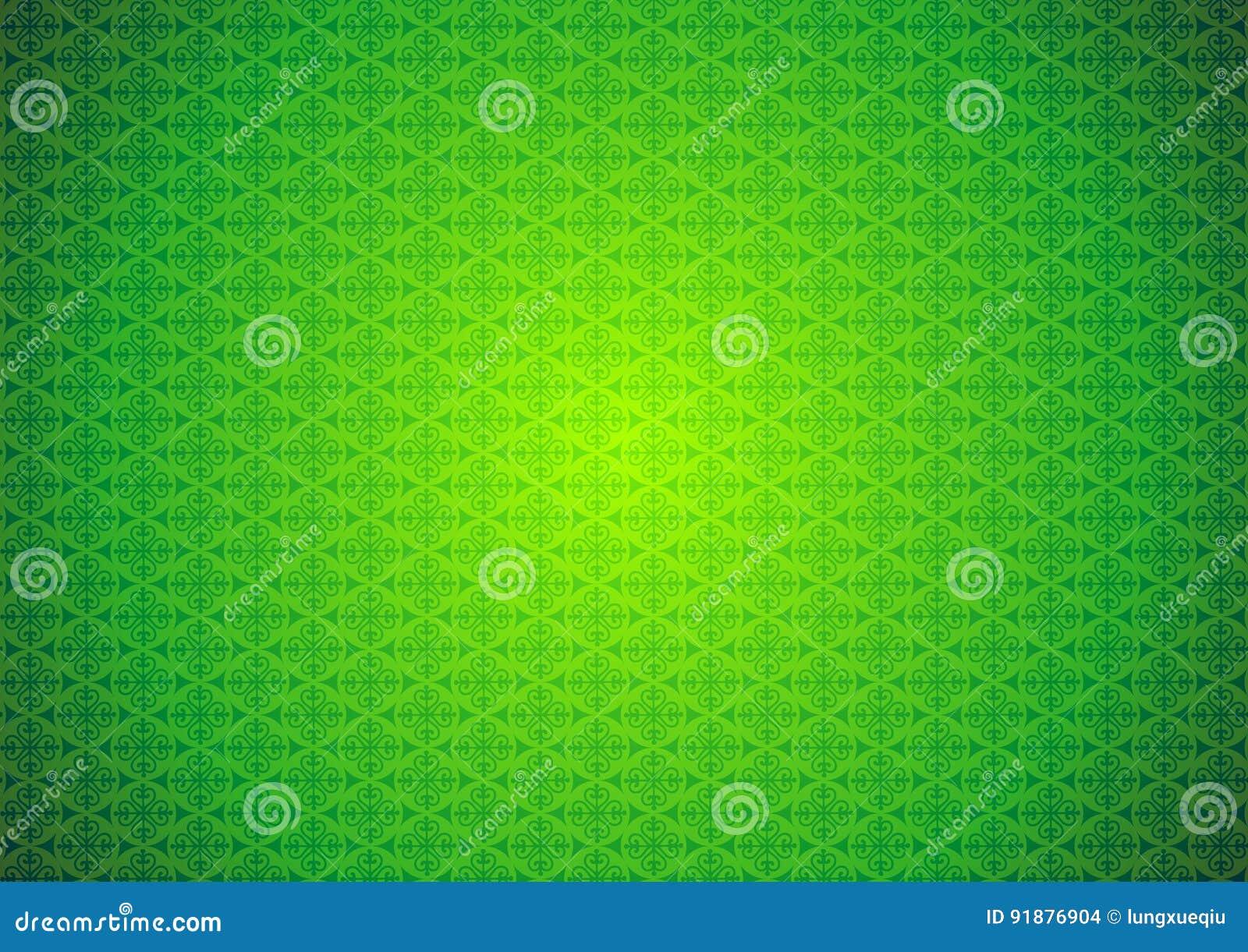Oriental, Ornamental, Chinese, Arabic, Islamic, Green Pattern Texture Background. Imlek, Ramadan, Festival Wallpaper.