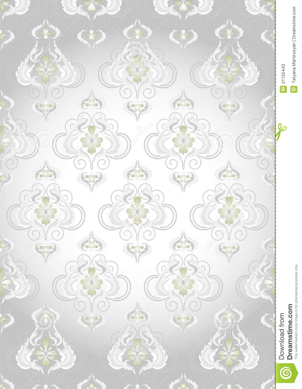 oriental pattern on a silver background wallpaper stock photos image 21155443. Black Bedroom Furniture Sets. Home Design Ideas