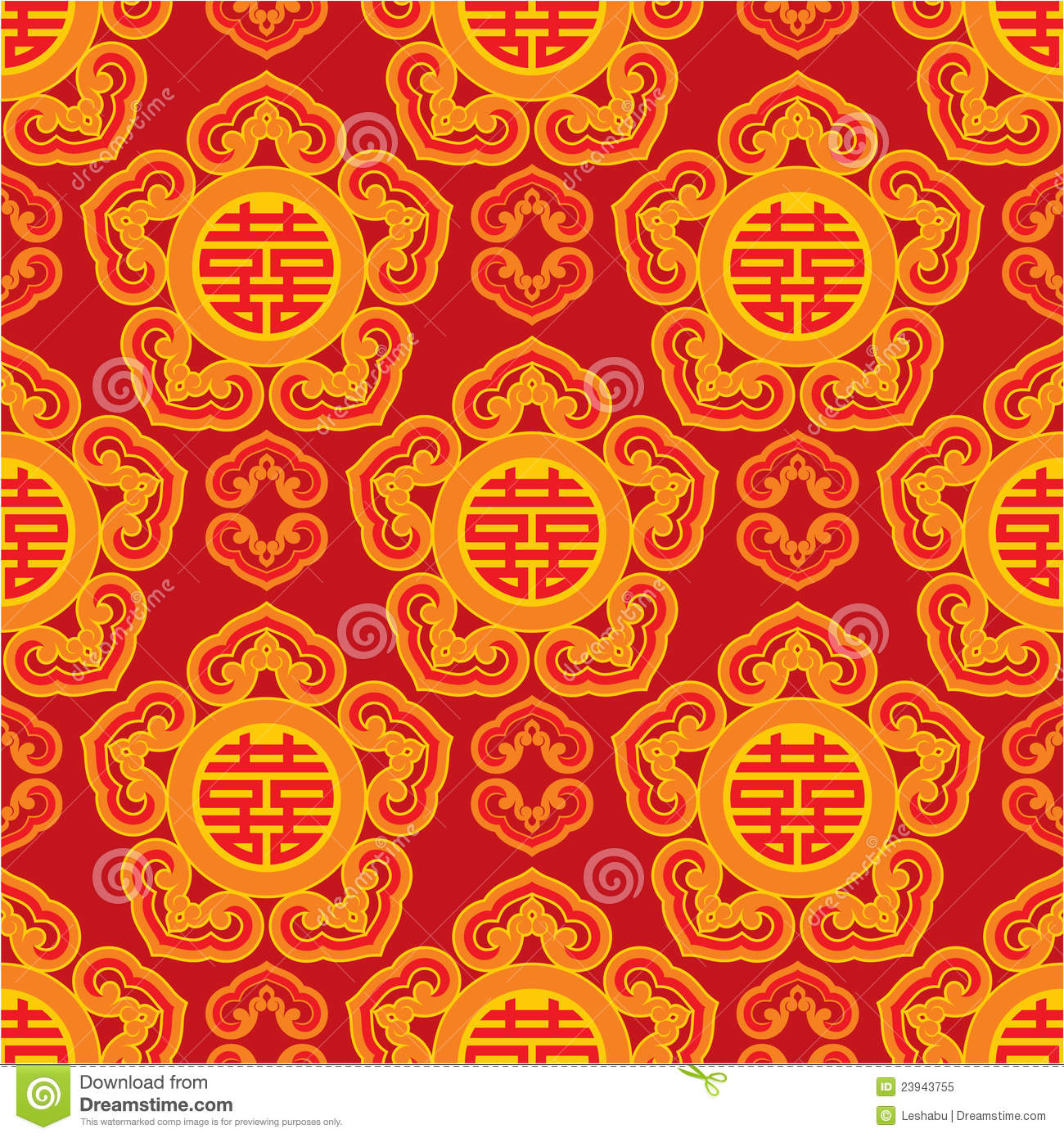 Oriental Seamless Pattern Royalty Free Stock Photo - Image: 23943755