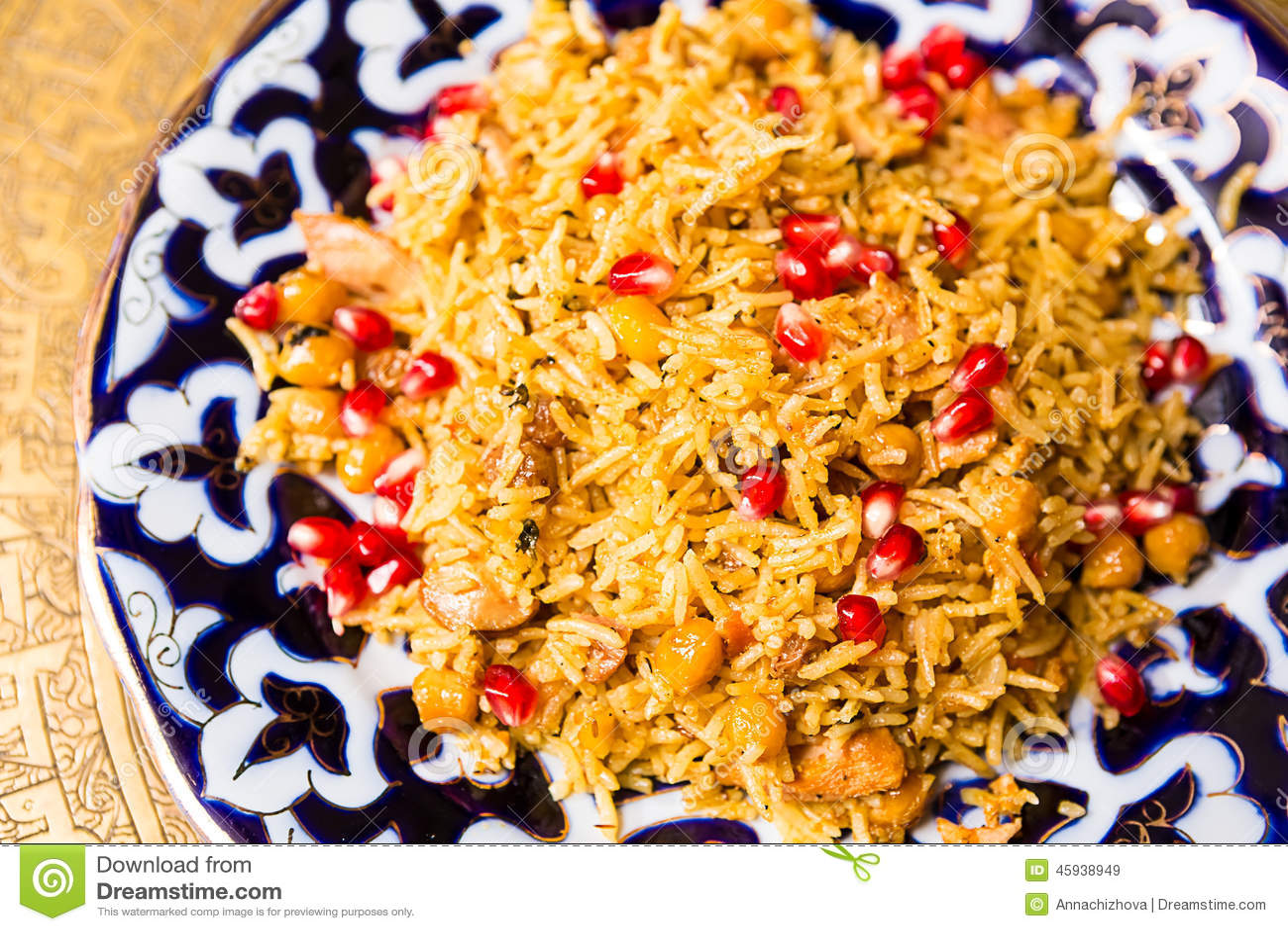 pilaw rijst
