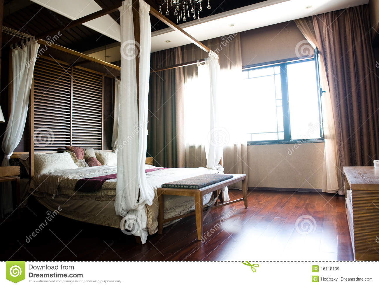 oriental style bedroom royalty free stock images image