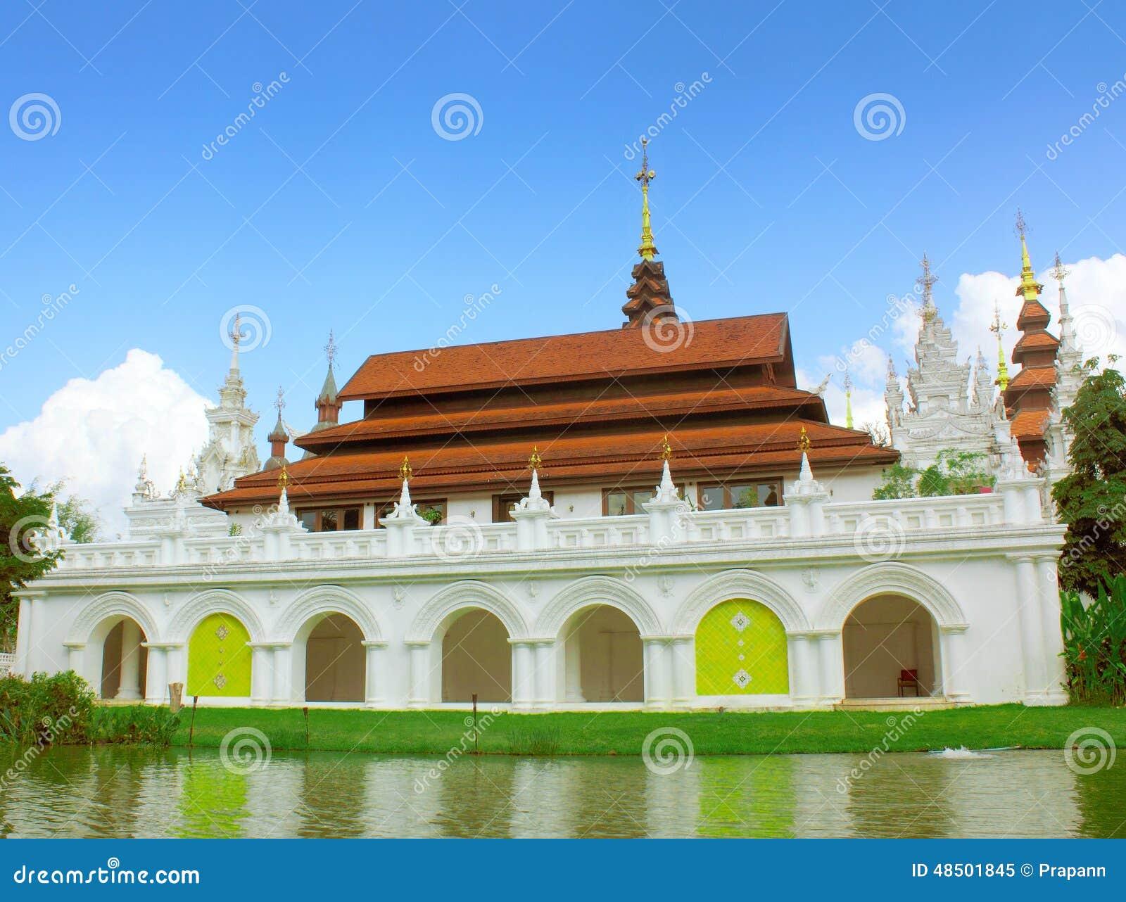 Oriental style buildings