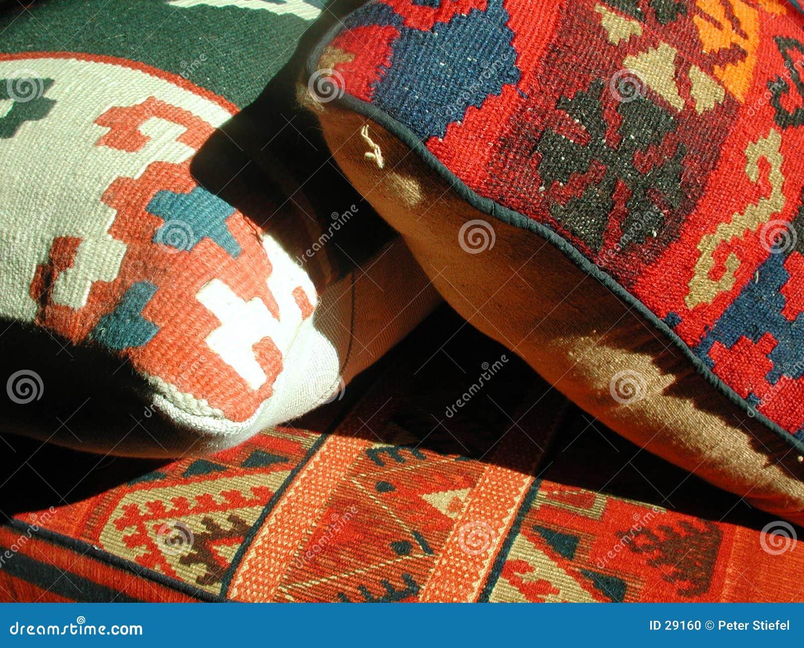 Oriental style cushions