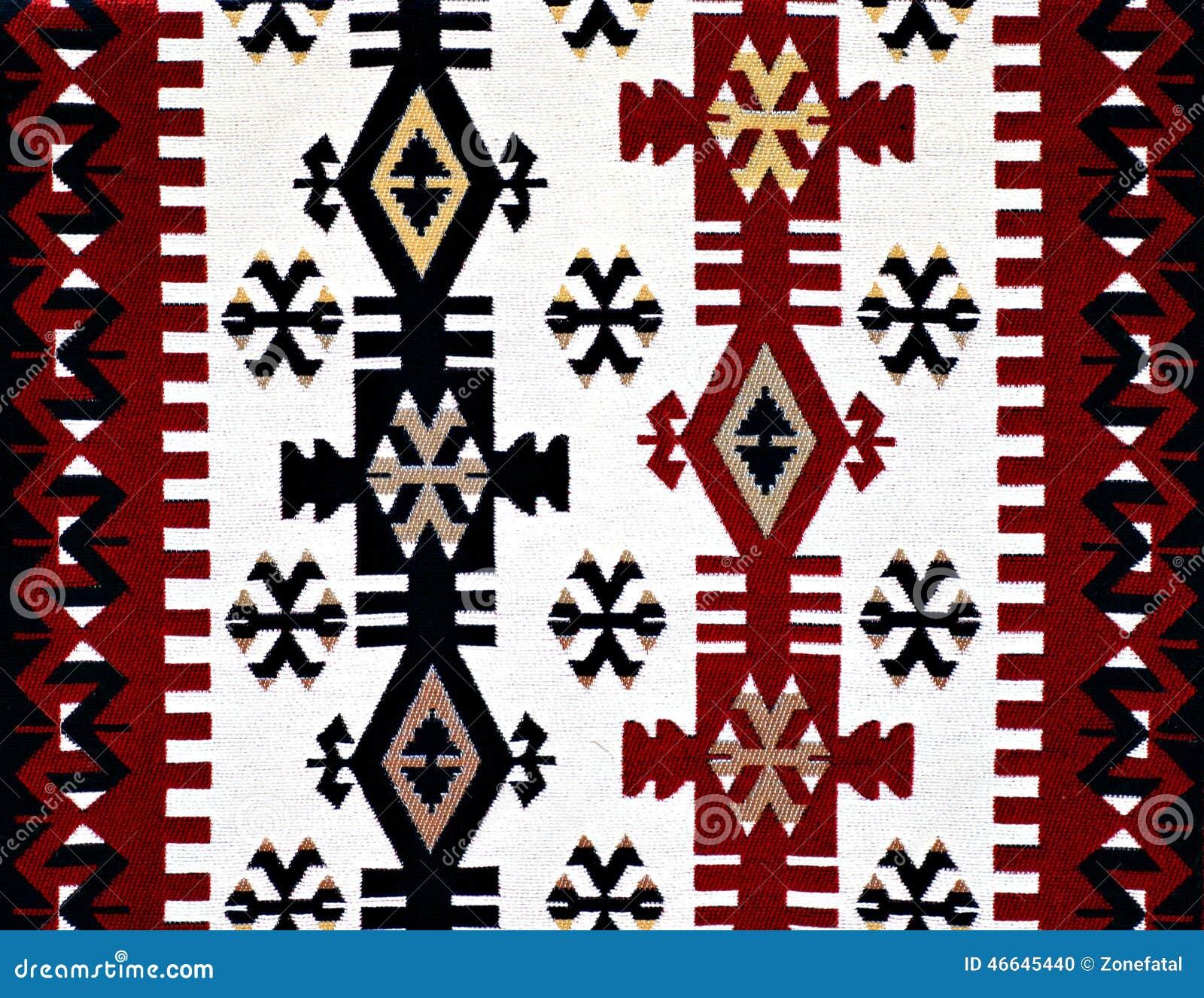 Oriental Turkish Carpet Pattern Stock Photo Image 46645440