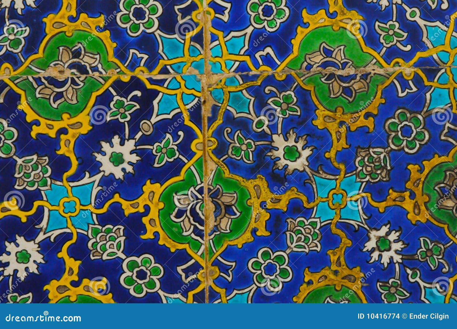 orientalische fliesen stockbilder bild 10416774. Black Bedroom Furniture Sets. Home Design Ideas