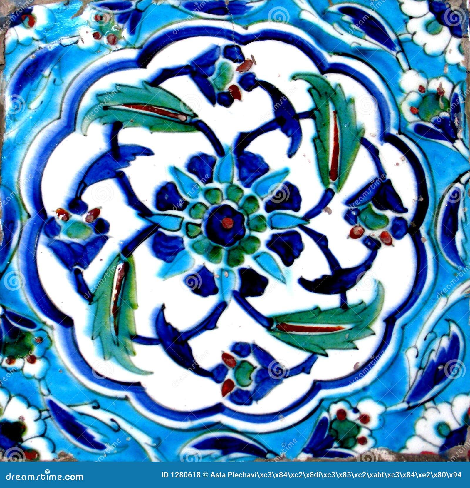 Orientalische Fliesen Stockfoto Bild Von Floral Abschluß - Türkische fliesen online