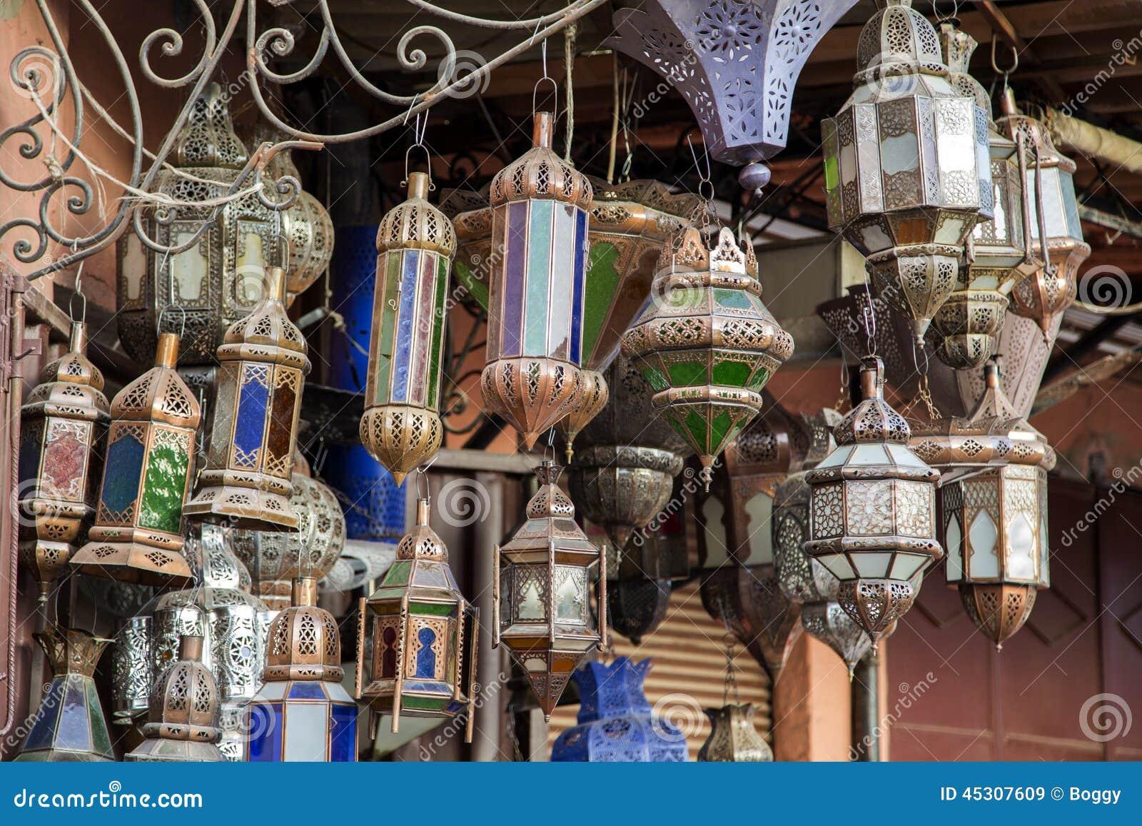 Orientalische lampen stockfoto bild 45307609 for Orientalische lampen