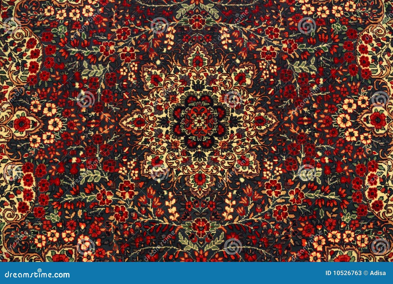 Orientalischer teppich  Orientalischer Teppich Stockfotos - Bild: 10526763