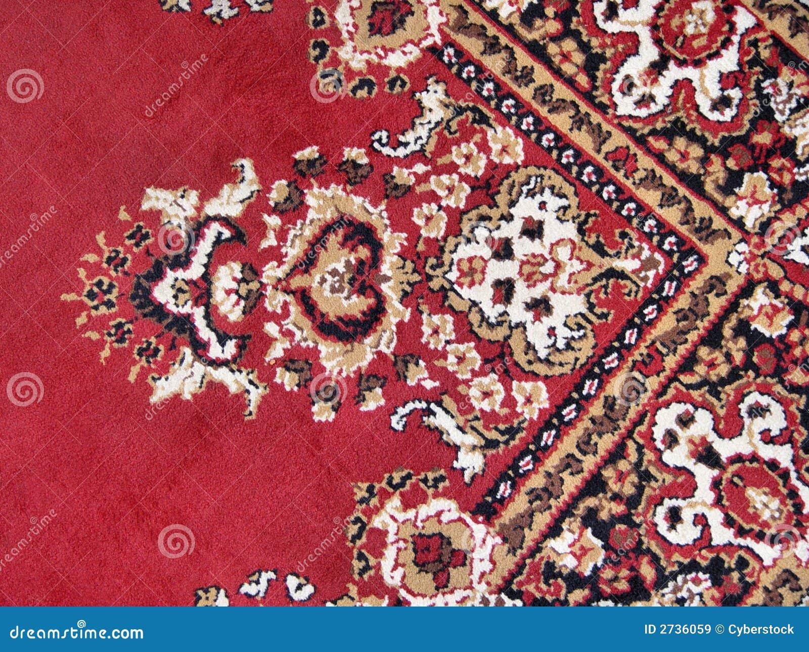 Orientalischer Teppich Lizenzfreie Stockbilder  Bild 2736059