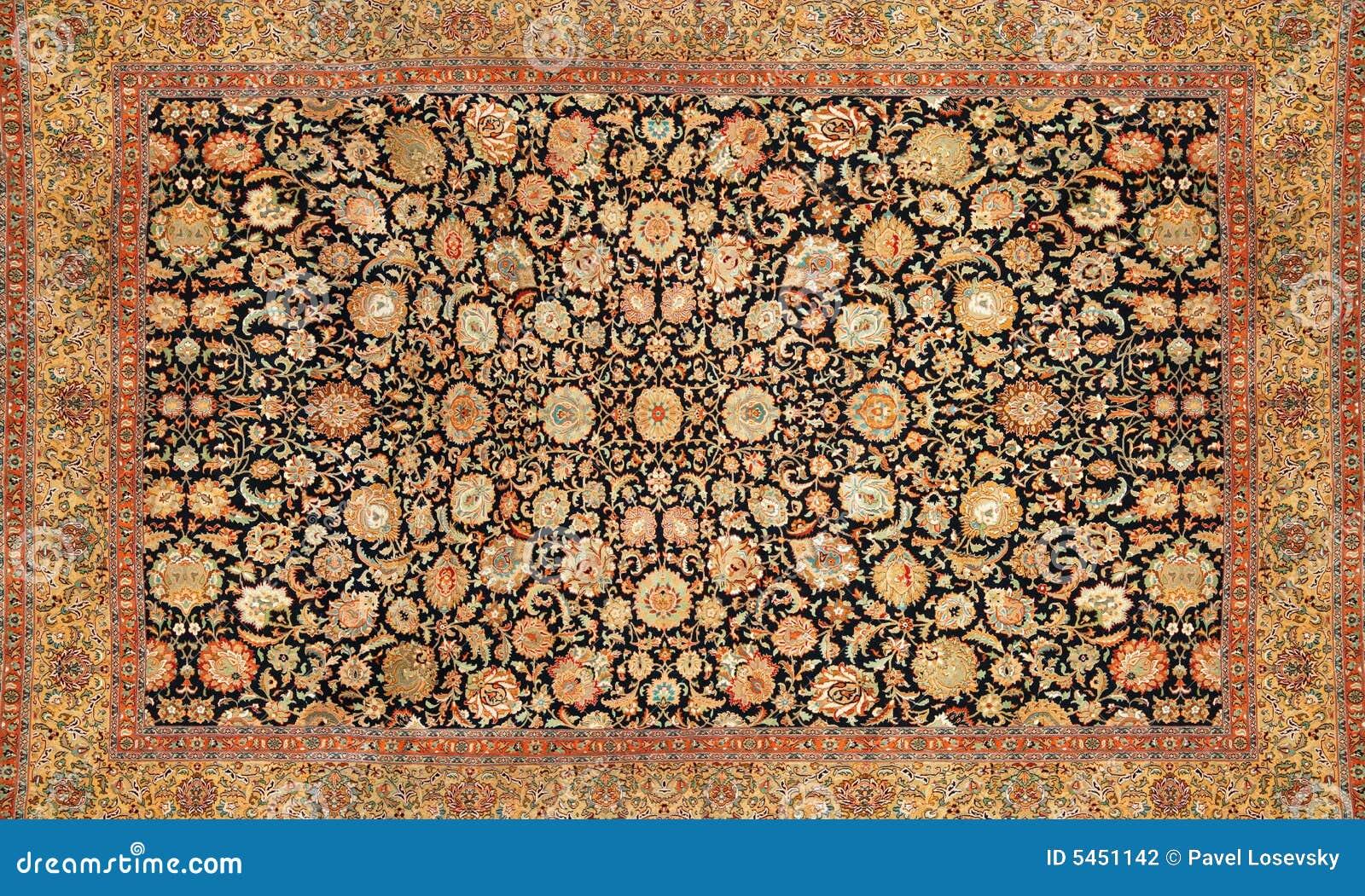 Orientalischer teppich  Orientalischer Teppich Stockfotografie - Bild: 5451142
