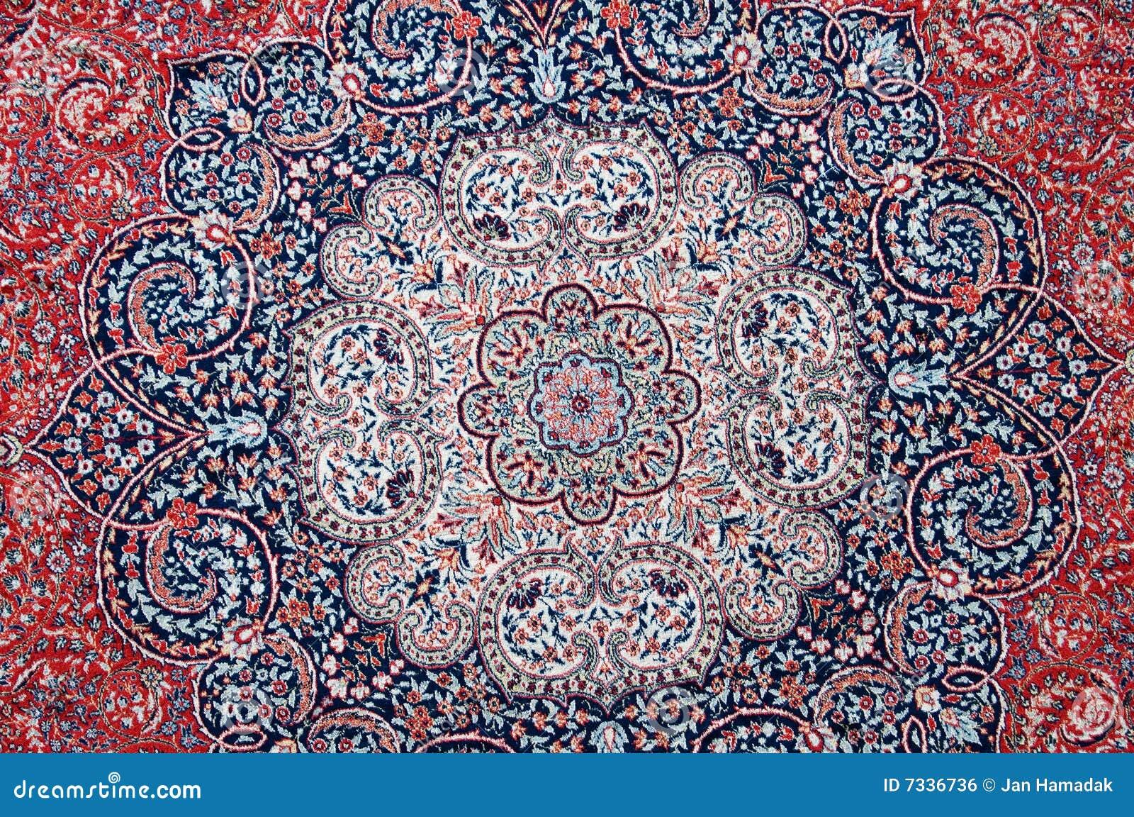 Orientalischer Teppich Lizenzfreies Stockbild  Bild 7336736