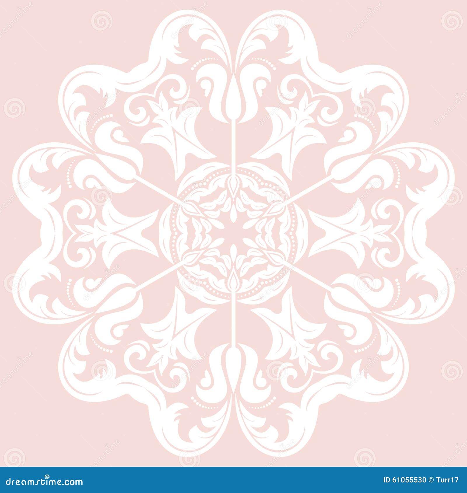 orientalisches abstraktes muster stock abbildung bild 61055530. Black Bedroom Furniture Sets. Home Design Ideas