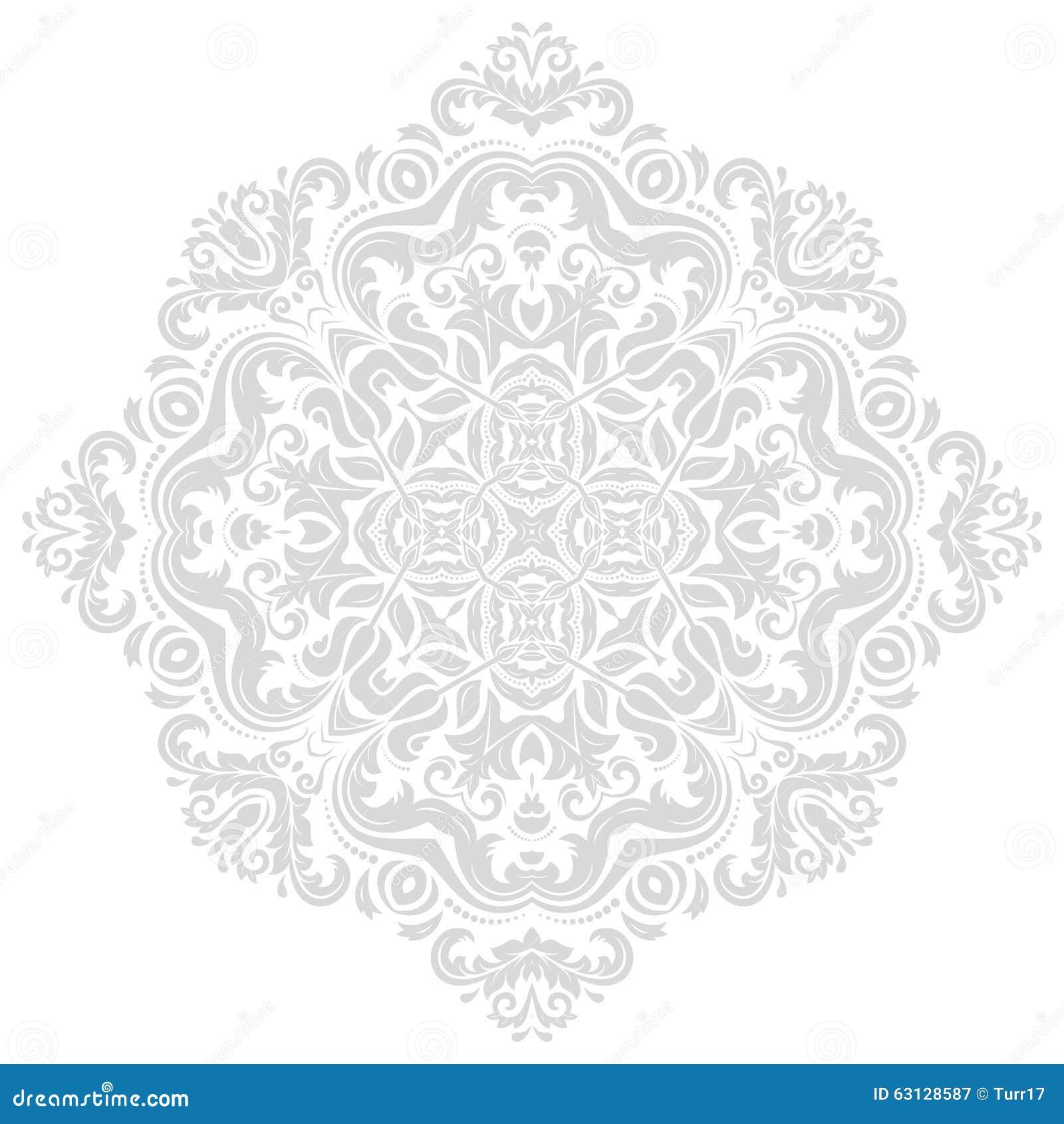 orientalisches abstraktes vektor muster vektor abbildung bild 63128587. Black Bedroom Furniture Sets. Home Design Ideas