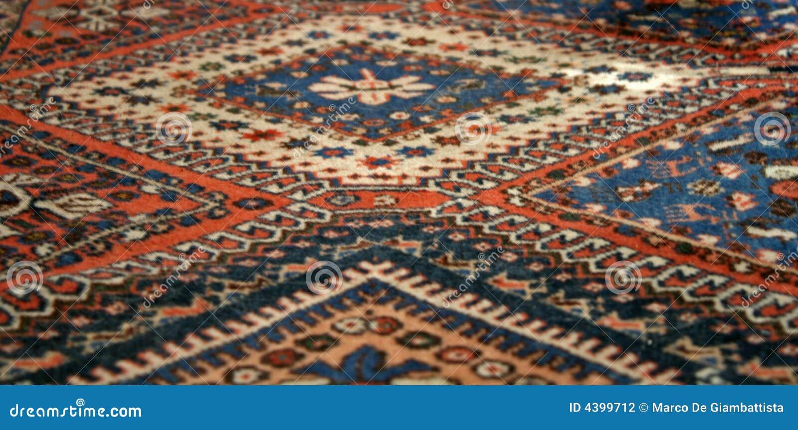 Orientalny dywan