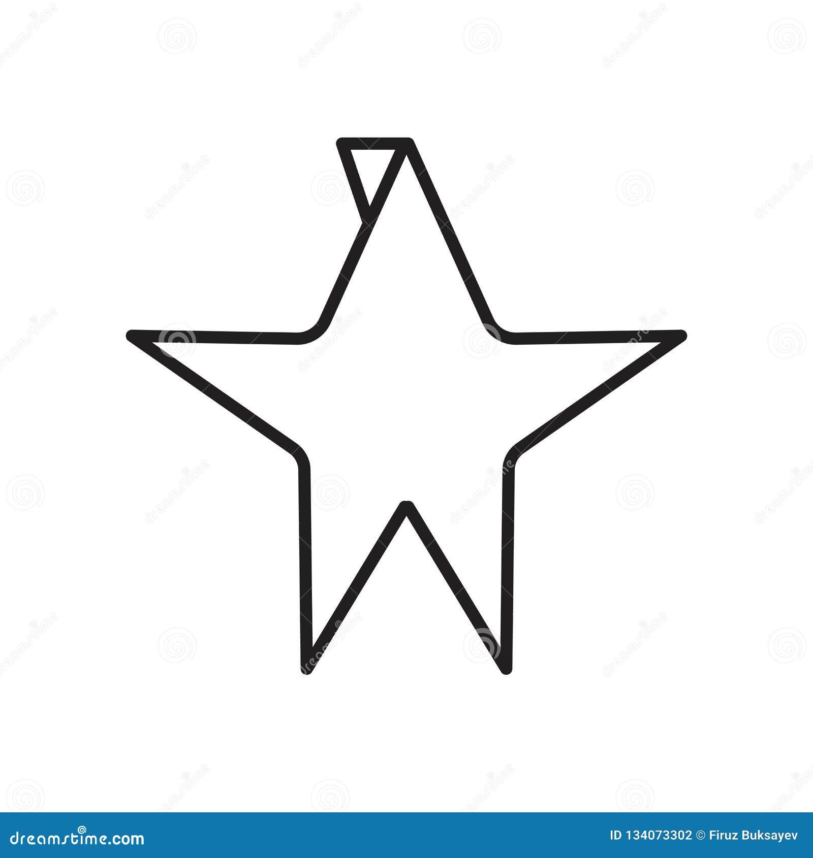 Origami在白色背景、Origami标志、标志和标志隔绝的象传染媒介在稀薄的线性概述样式