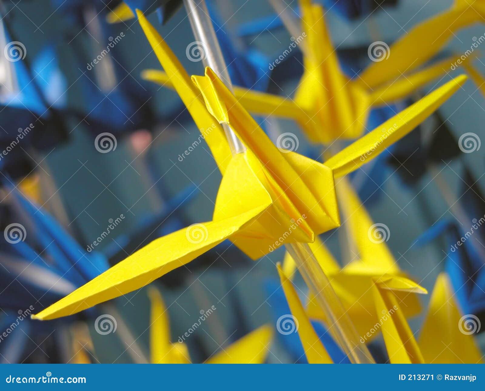 Origami летания